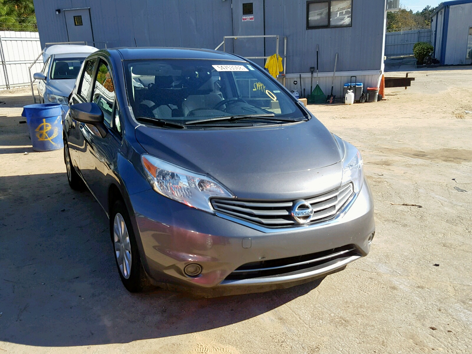 Salvage 2016 Nissan VERSA NOTE for sale