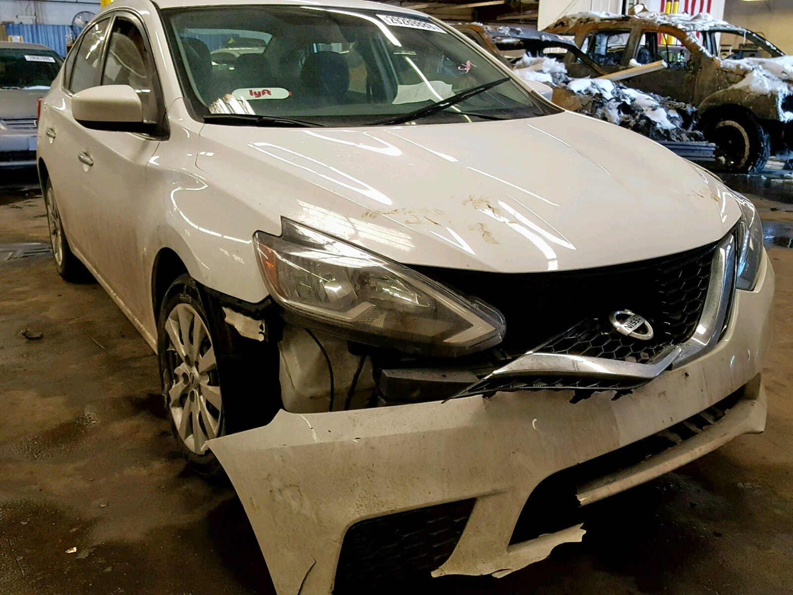 Salvage 2016 Nissan SENTRA S for sale