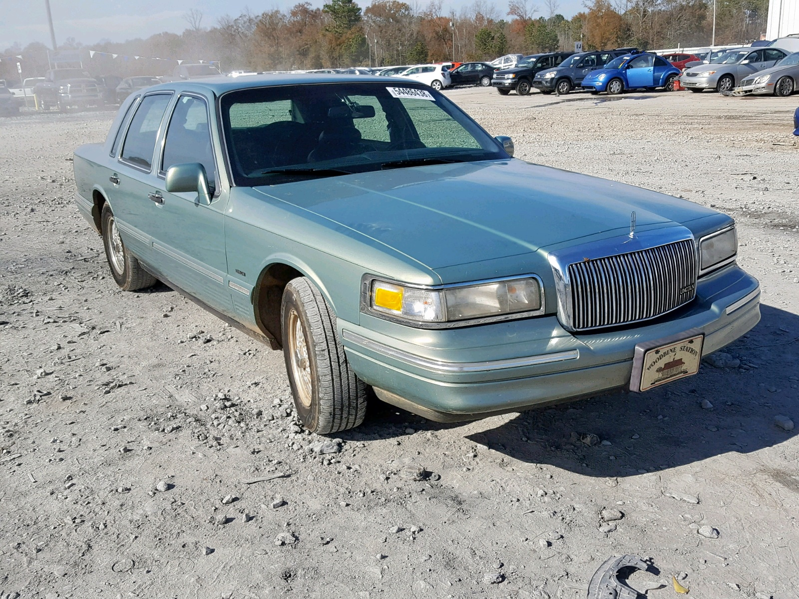 1995 Lincoln Town Car S For Sale At Copart Montgomery Al Lot 54486438