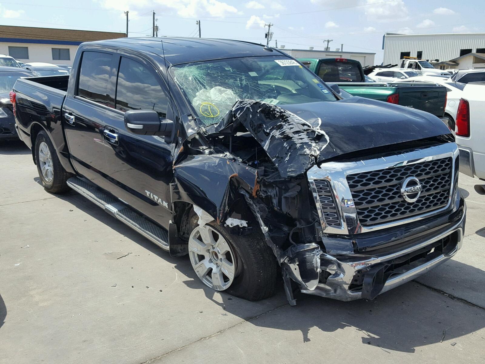 2017 Nissan Titan S for sale at Copart Grand Prairie TX Lot