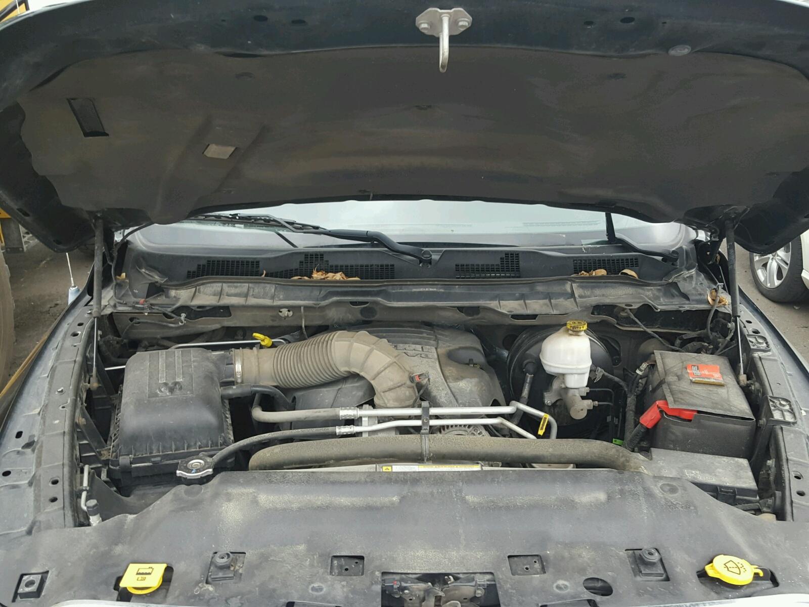 2012 Dodge Ram 1500 L For Sale At Copart Ham Lake Mn Lot 36365008 Engine