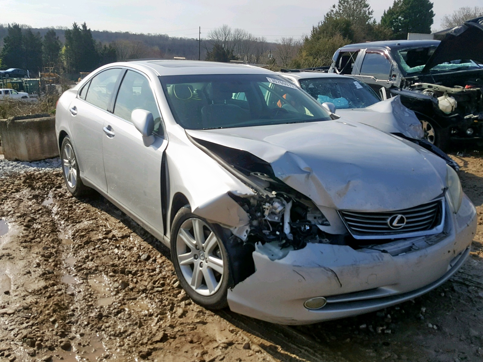Salvage 2008 Lexus ES 350 for sale