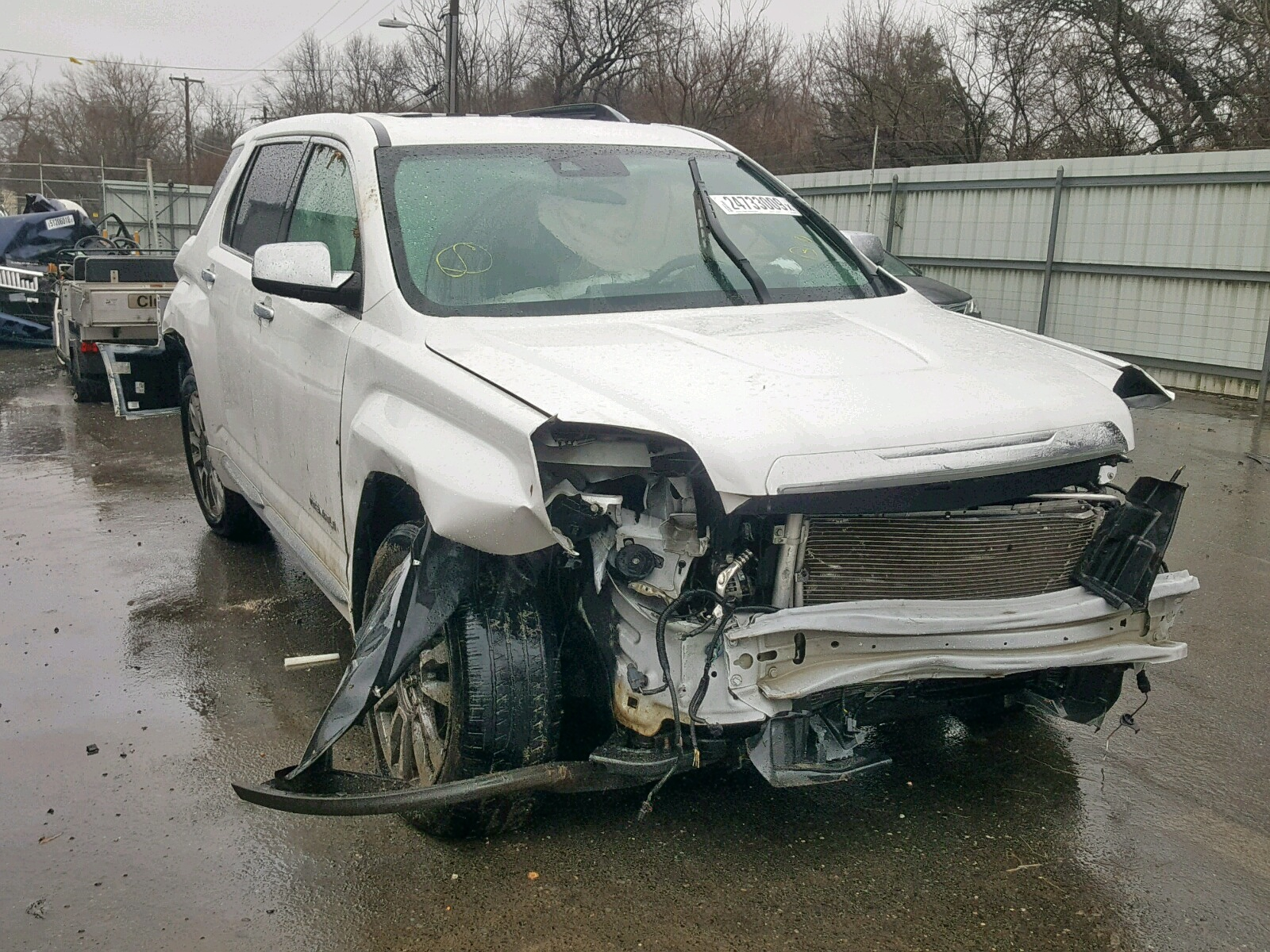 Salvage 2016 GMC TERRAIN DE for sale