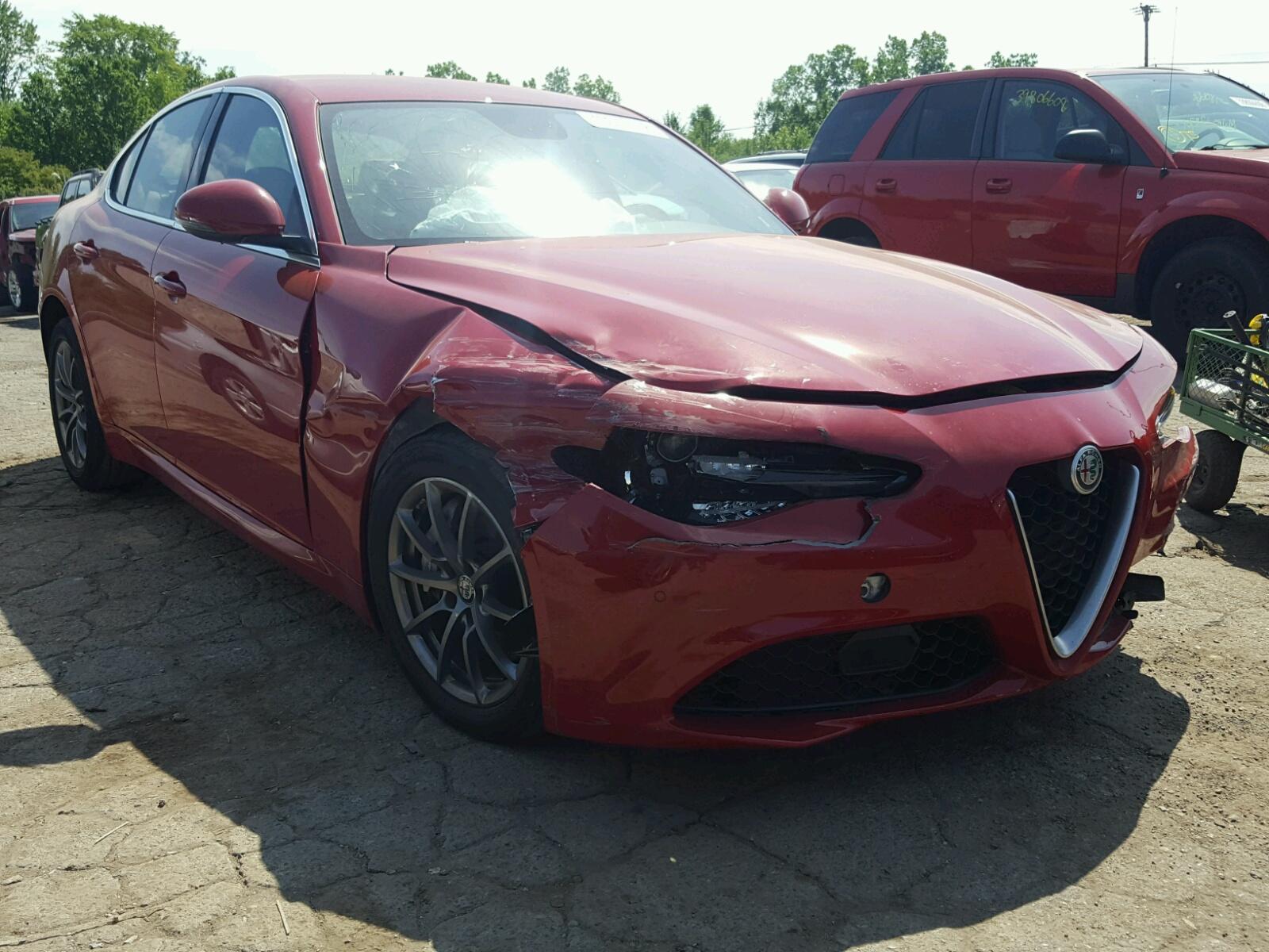 Salvage 2017 Alfa Romeo GIULIA for sale