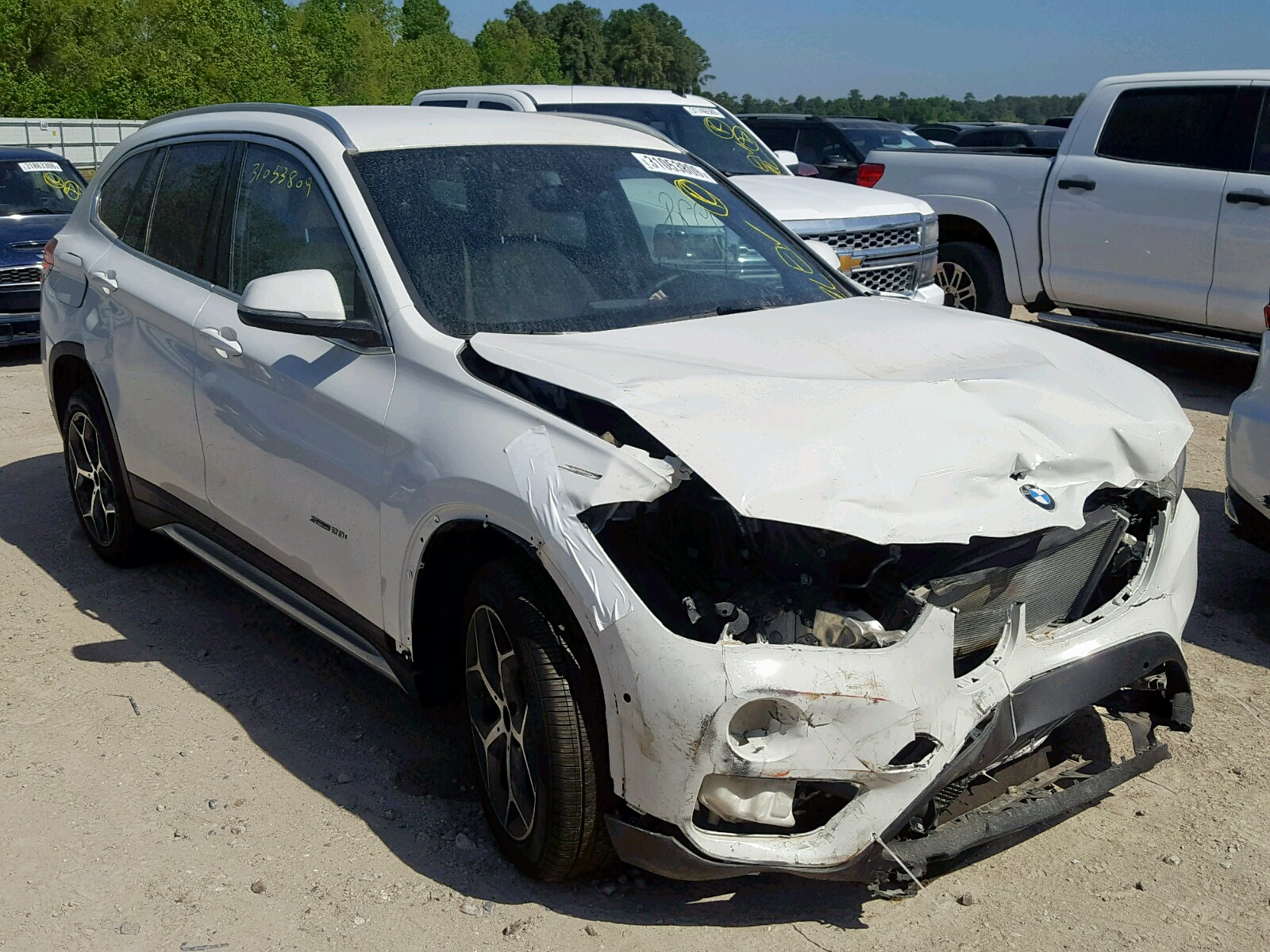 Salvage 2018 BMW X1 SDRIVE2 for sale