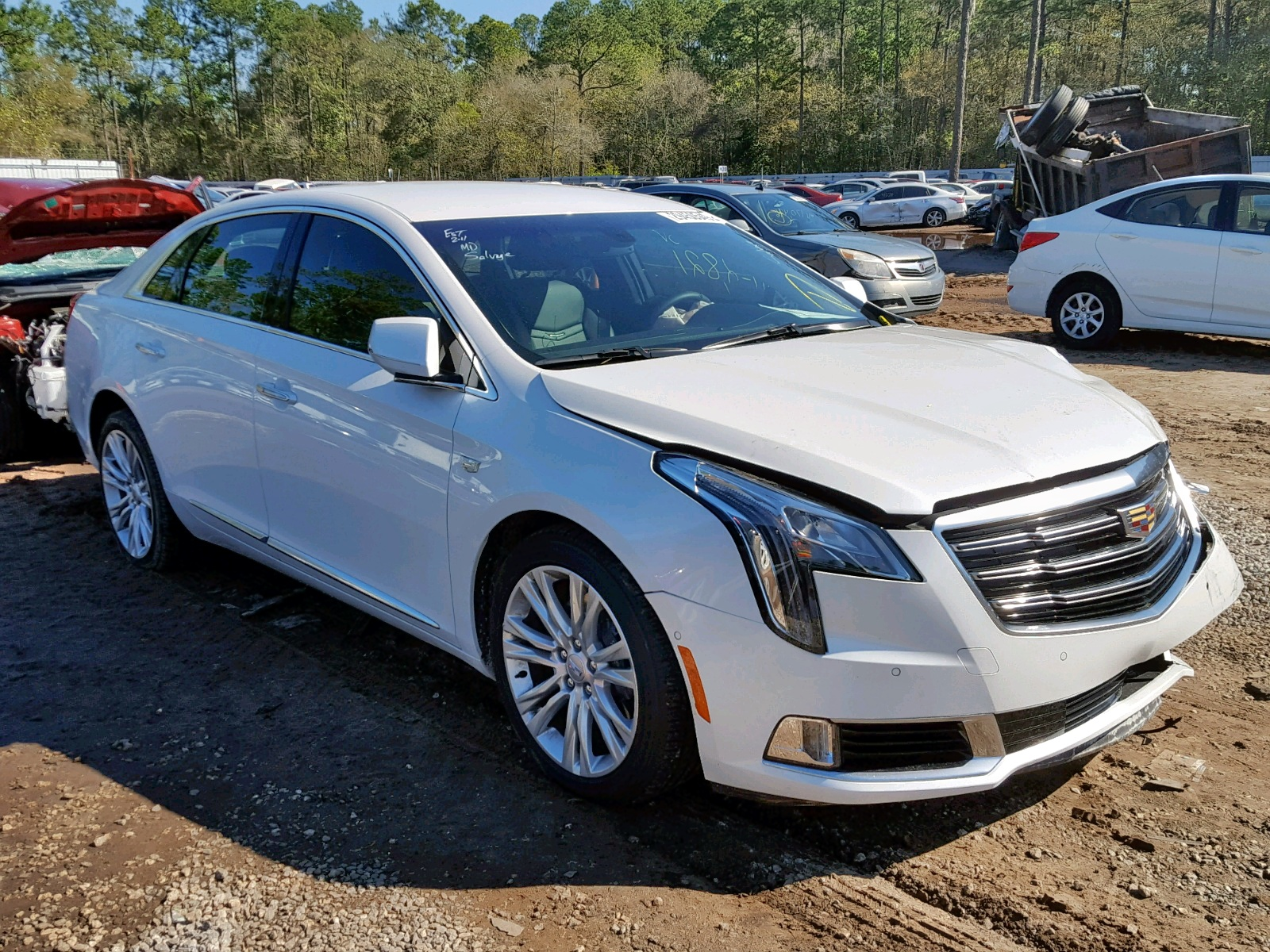 Salvage 2019 Cadillac XTS LUXURY for sale