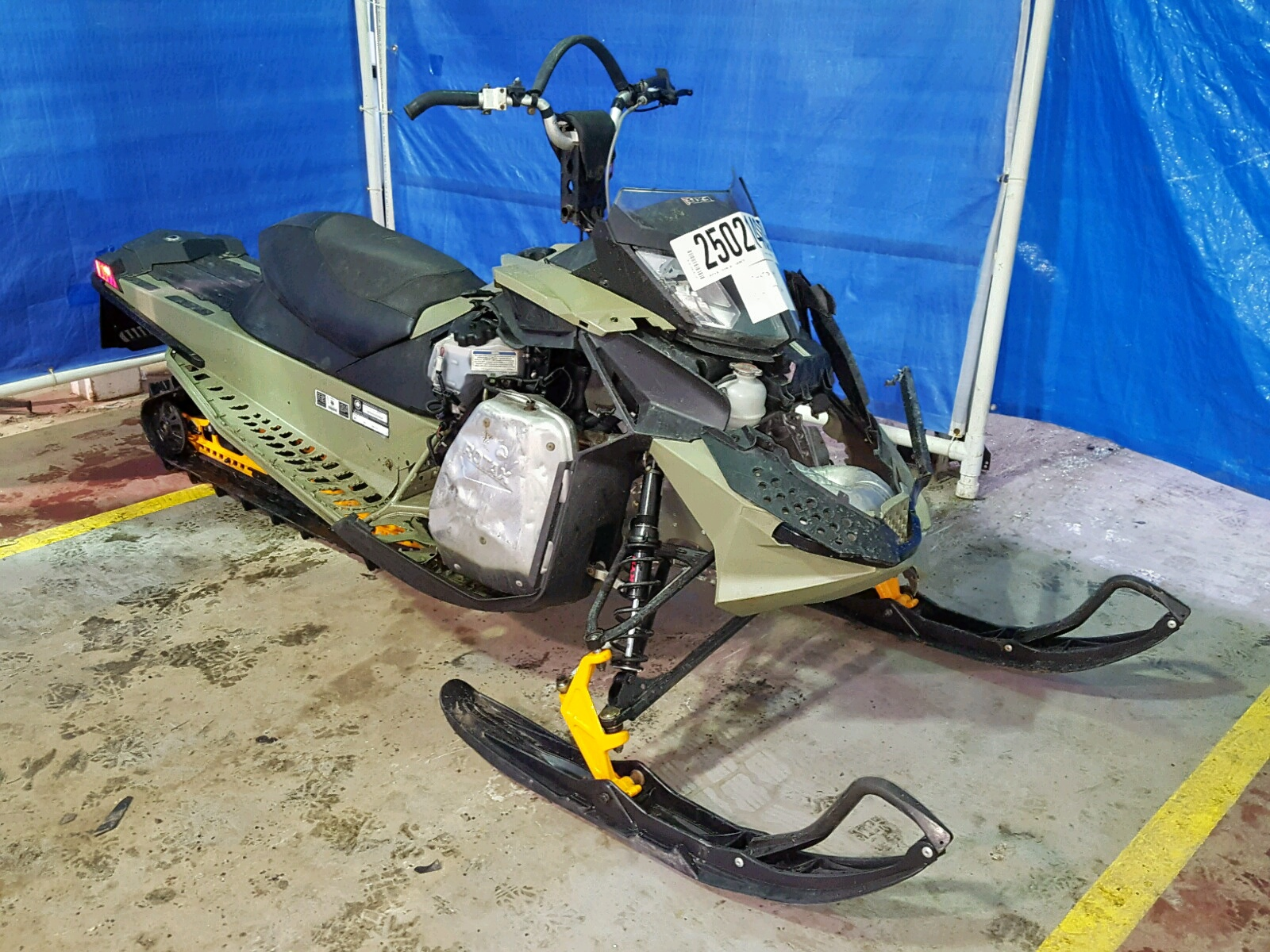 Salvage 2013 Skidoo FREERIDE for sale