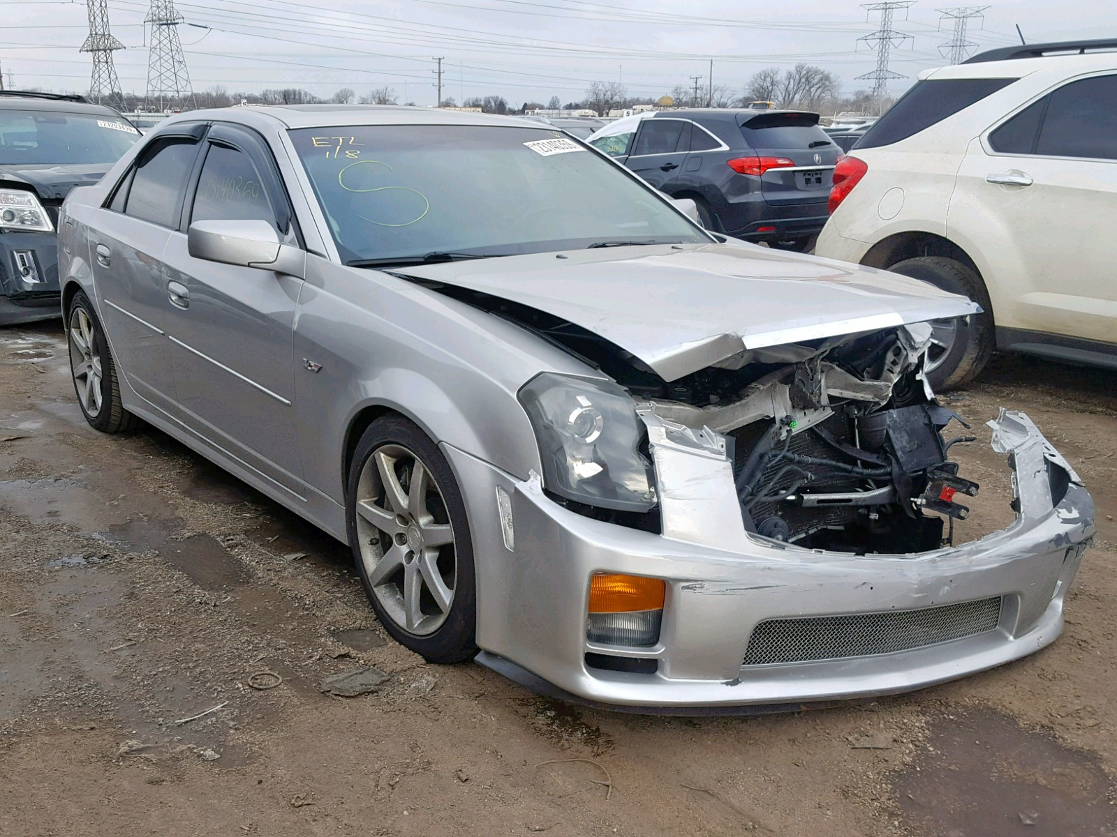2005 Cadillac Cts V For Sale At Copart Elgin Il Lot 23140359