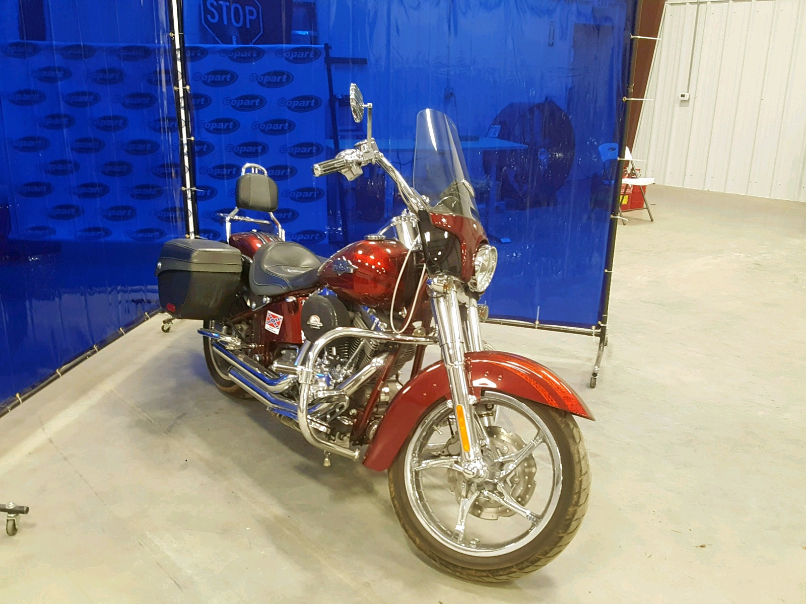 Salvage 2012 Harley-Davidson FLSTSE3 CV for sale
