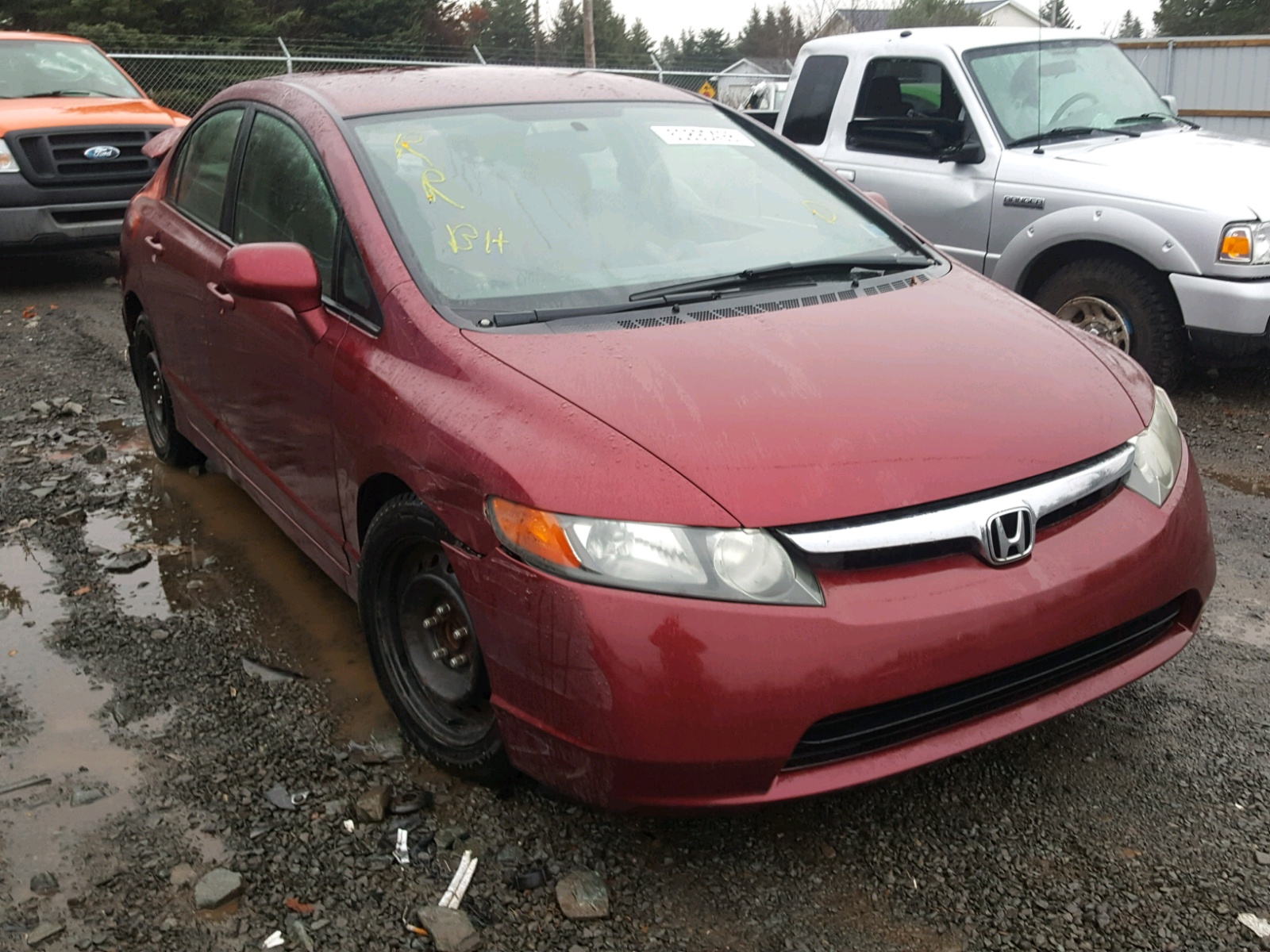 Salvage 2006 Honda CIVIC LX for sale
