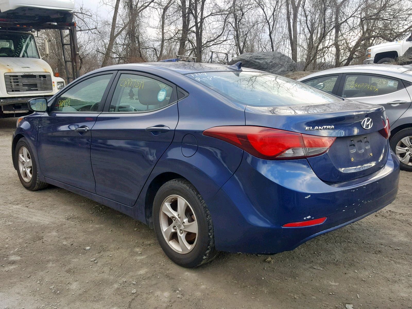 2015 Hyundai Elantra Se 1.8L [Angle] View