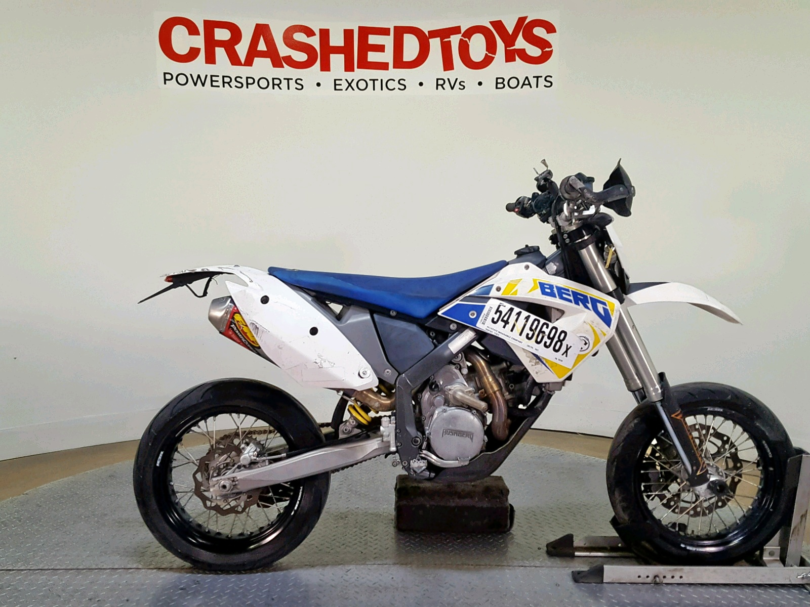 Salvage 2011 Husaberg FE570 for sale