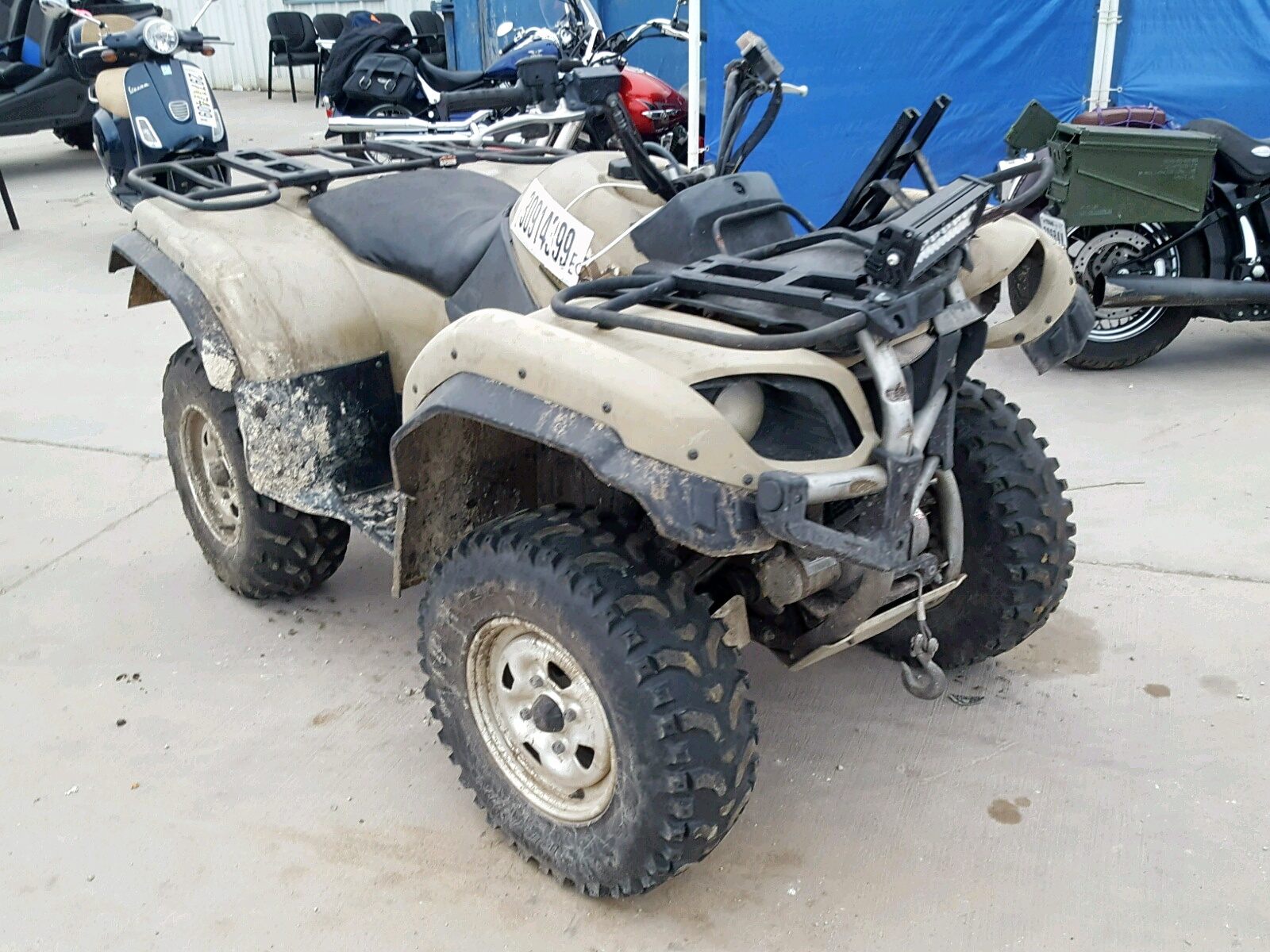 Salvage 2002 Yamaha YFM660 FWA for sale