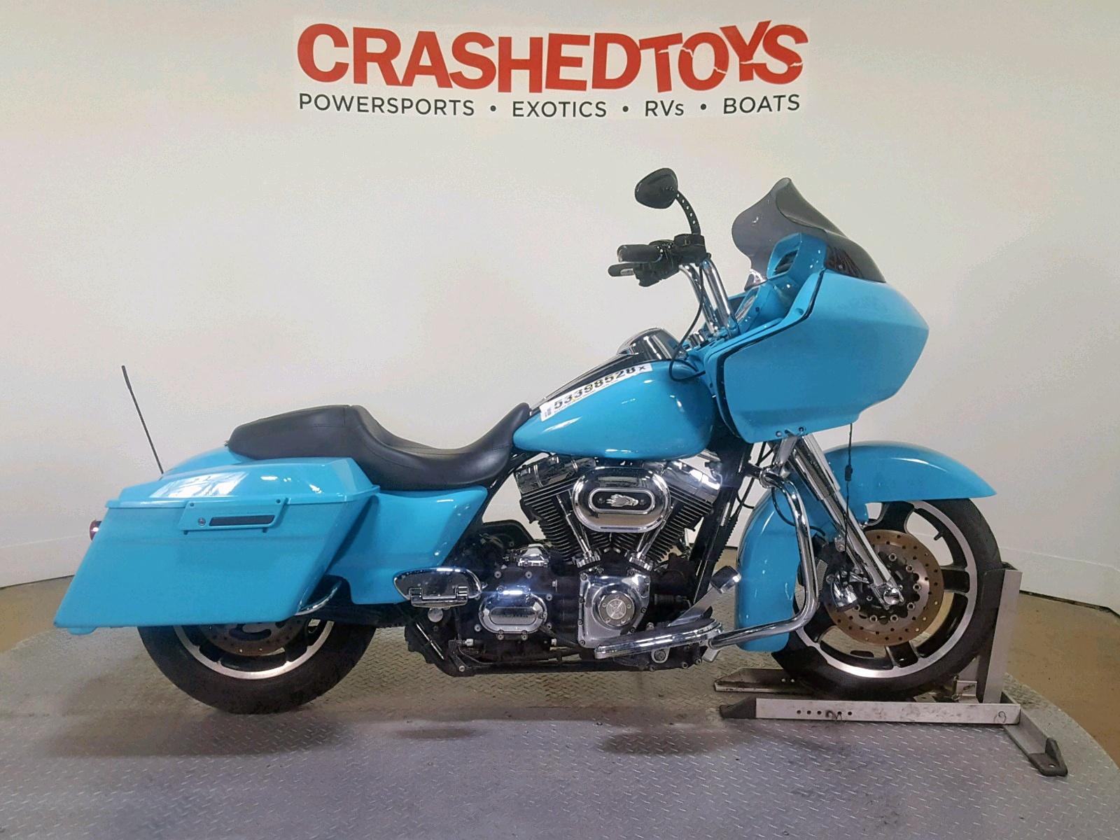 Salvage 2010 Harley-Davidson FLTRX for sale
