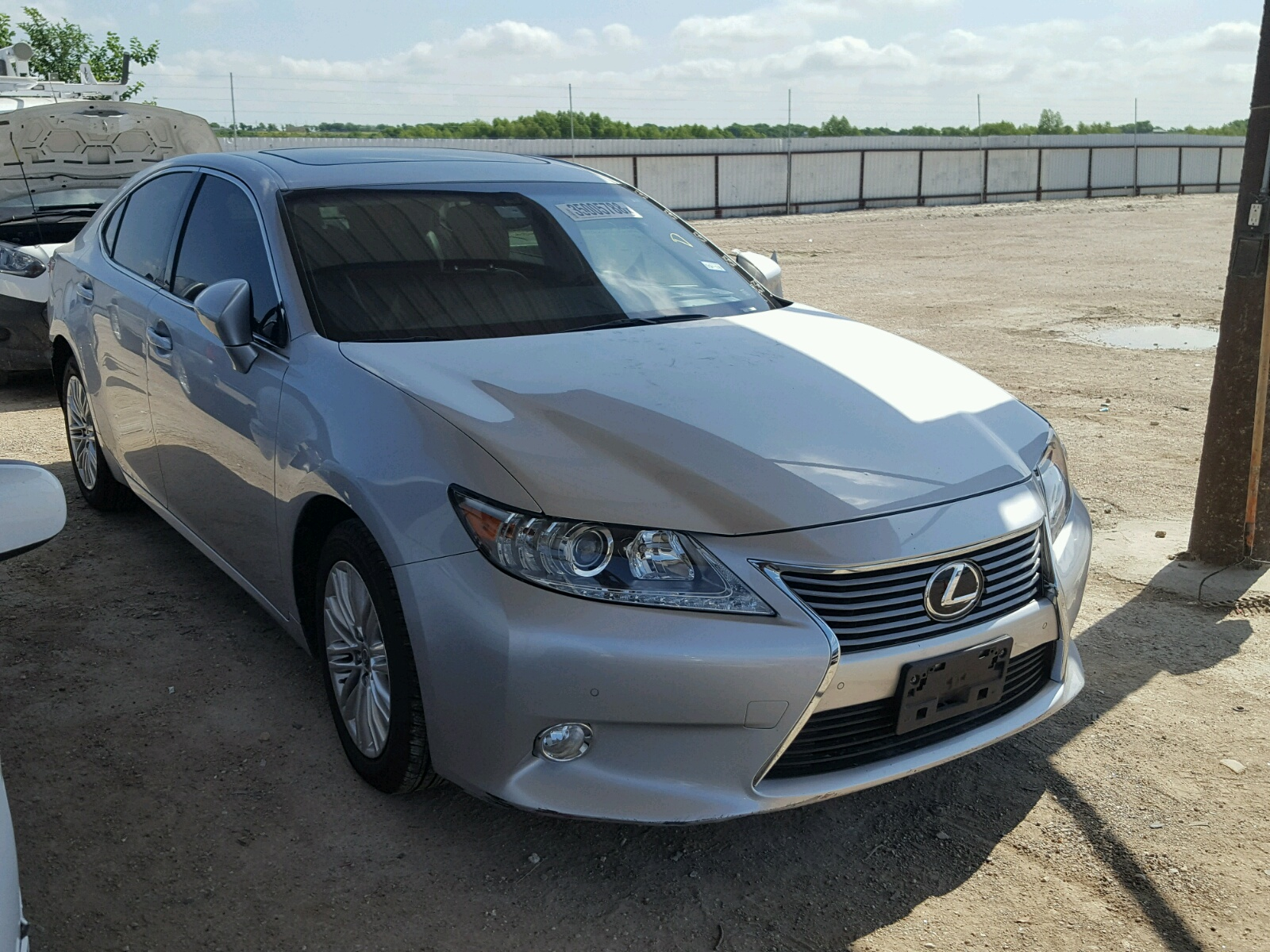 2013 Lexus ES 350 for sale at Copart Temple TX Lot