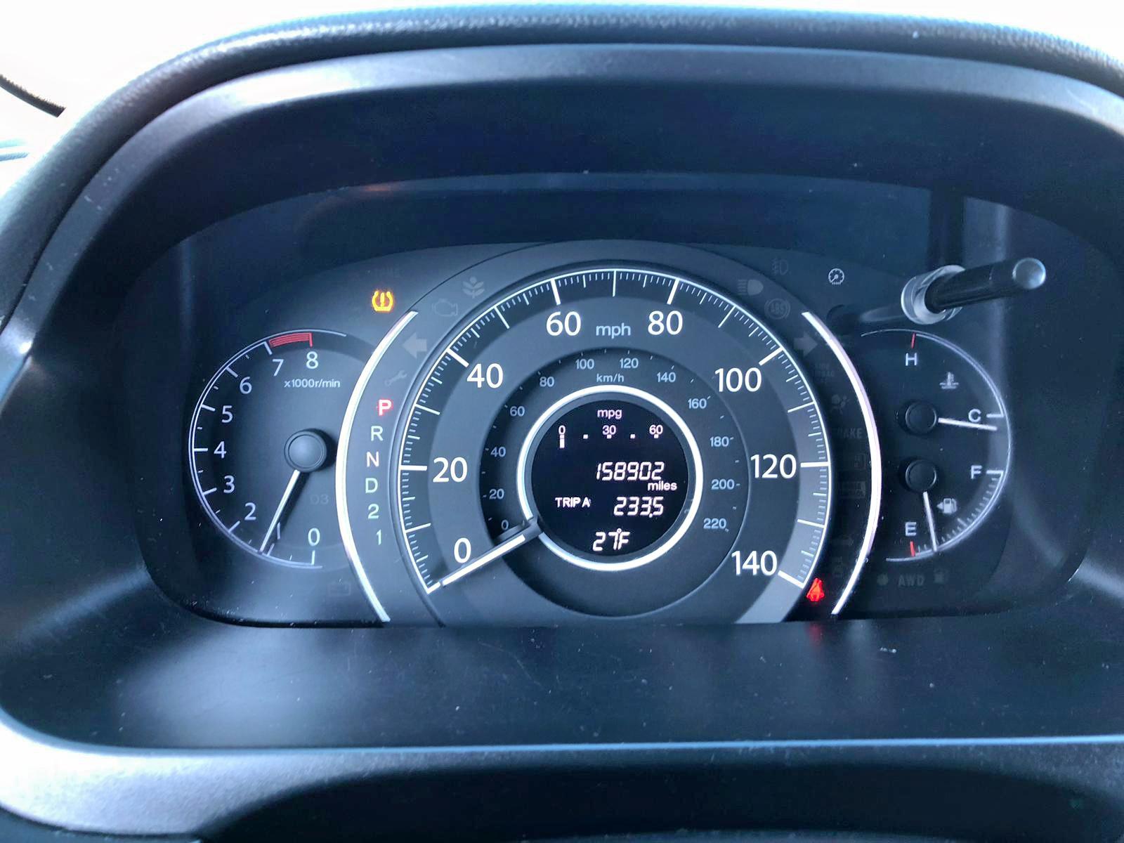 2HKRM4H73CH626699 - 2012 Honda Cr-V Exl 2.4L inside view