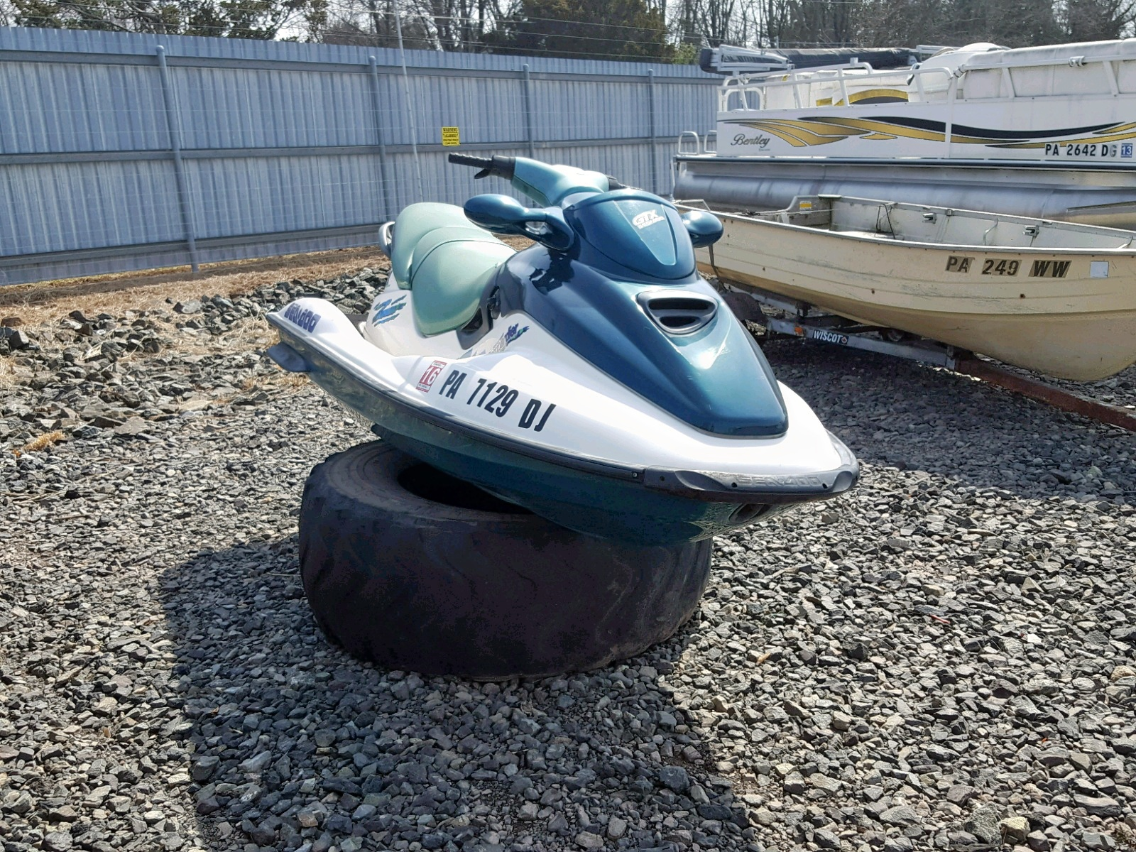 Salvage 1997 Cons BOMBARDIER for sale