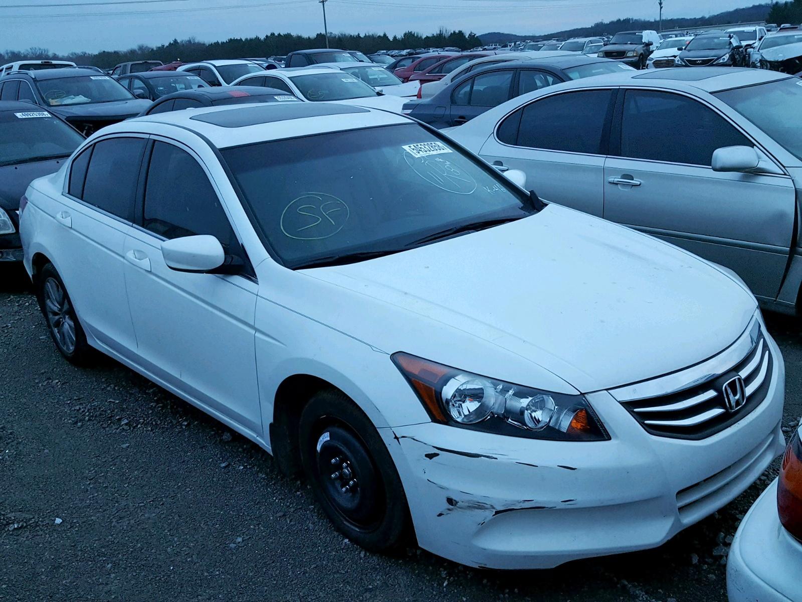 Salvage 2012 Honda ACCORD EXL for sale
