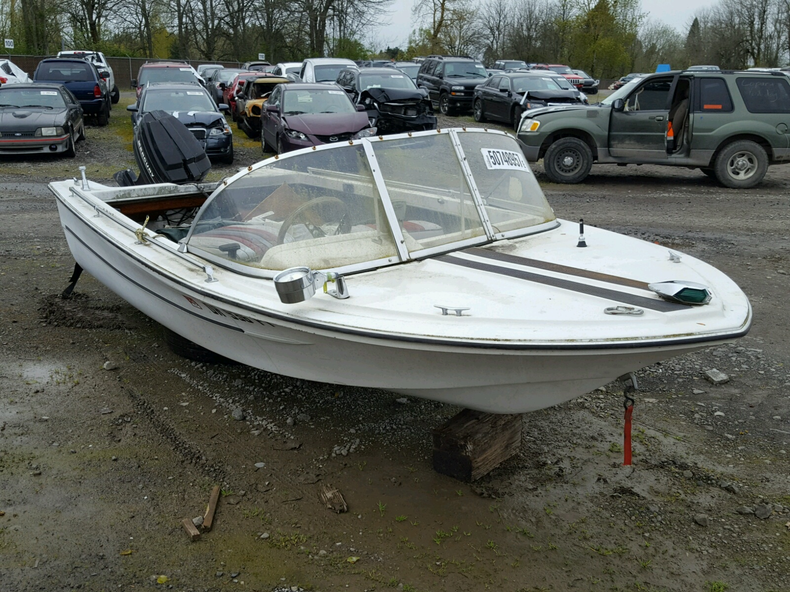 Salvage 1972 Riverside BOAT for sale