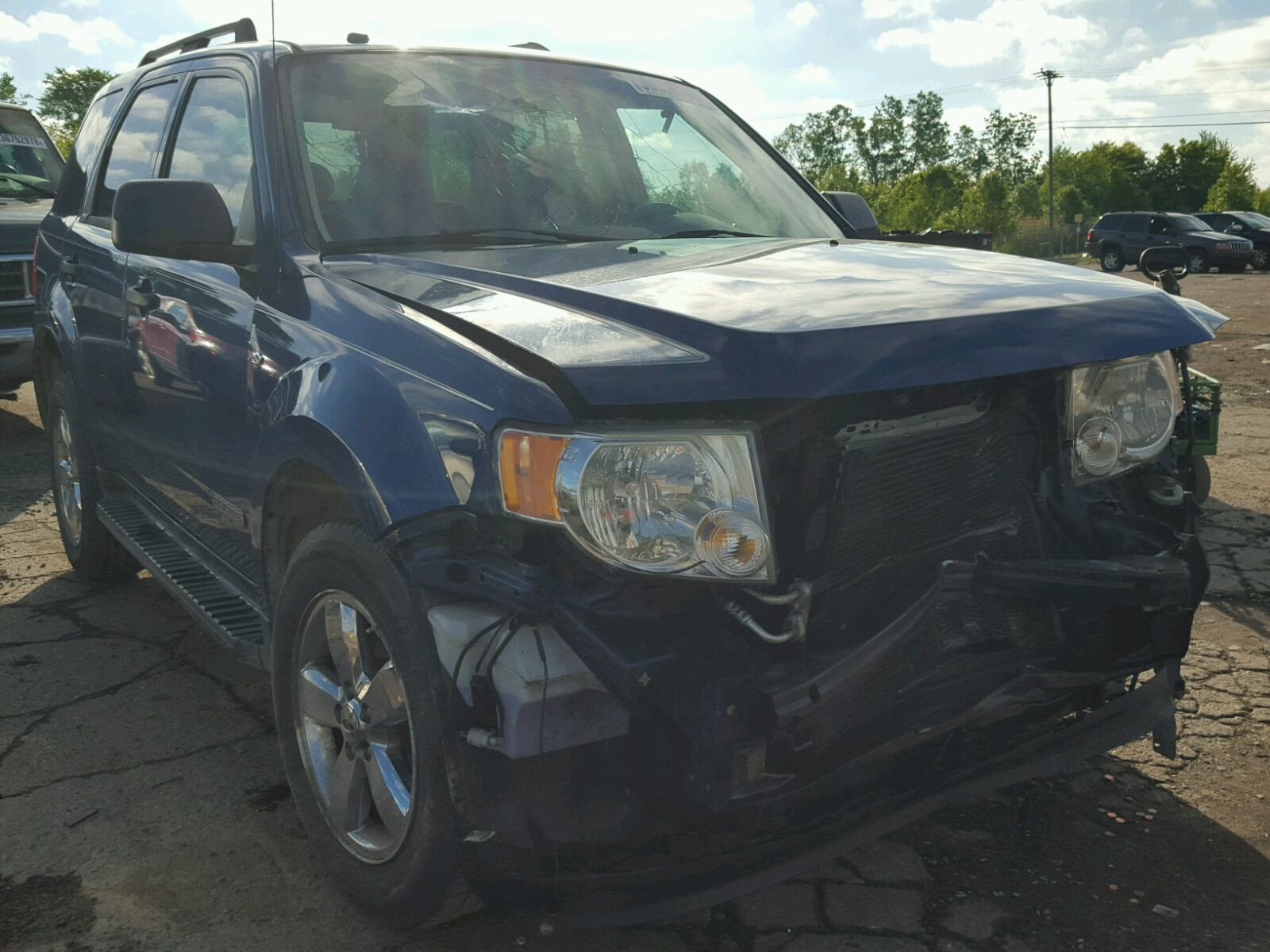 Salvage 2008 Ford ESCAPE XLT for sale