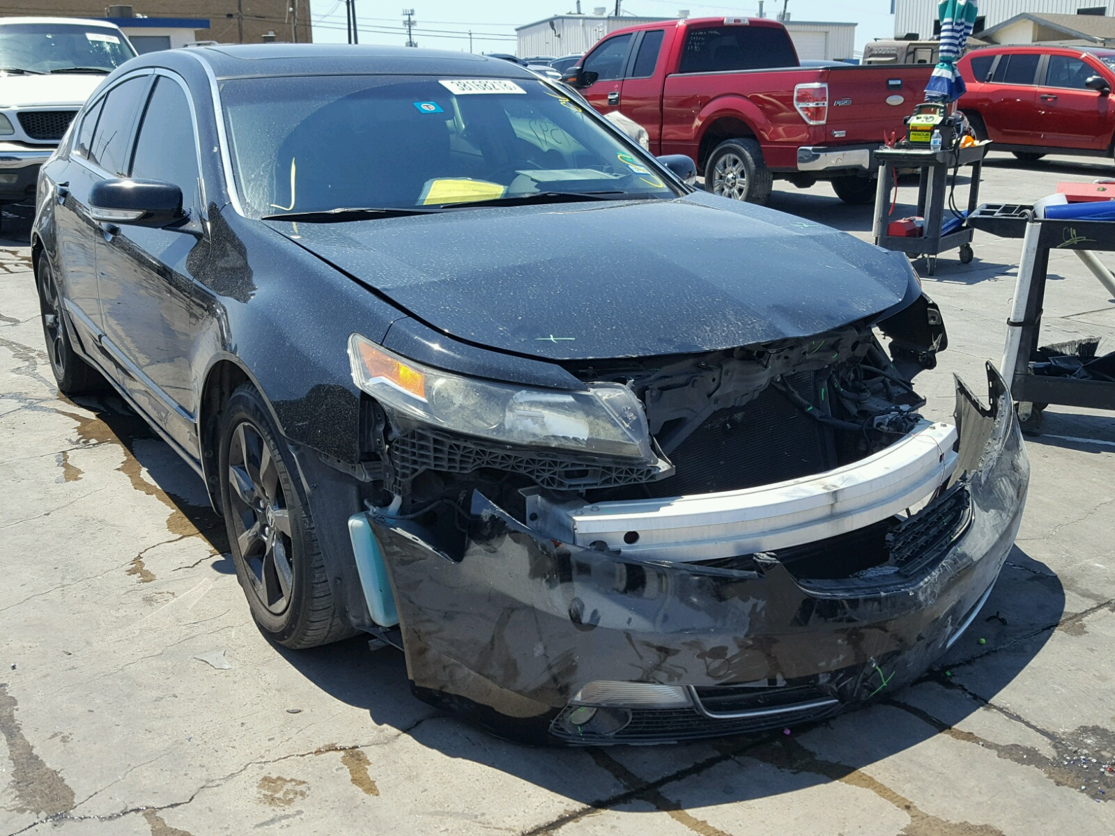 19UUA8F25CA 2012 BLACK ACURA TL on Sale in TX DALLAS