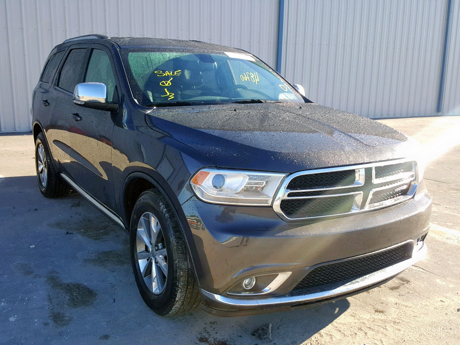 1C4RDHDG9FC883718 - 2015 Dodge Durango Li 3.6L Left View
