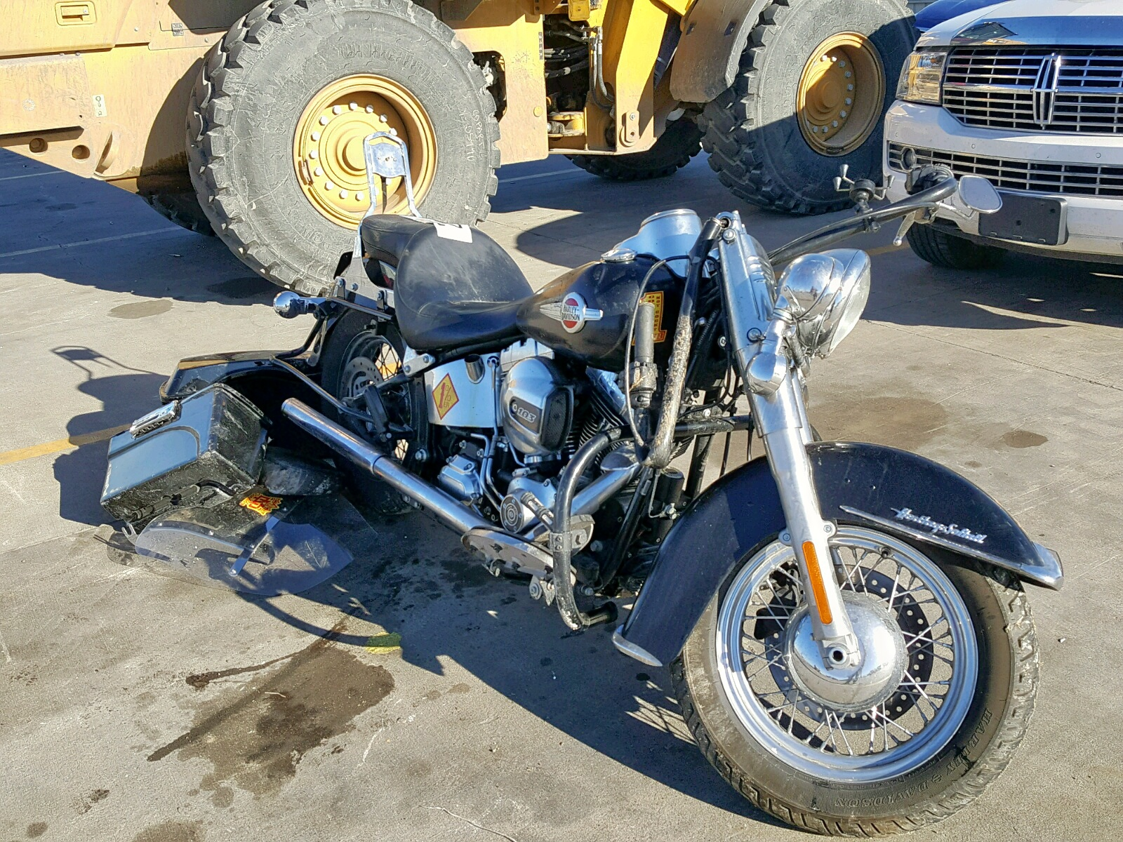 Salvage 2017 Harley-Davidson FLSTC HERI for sale