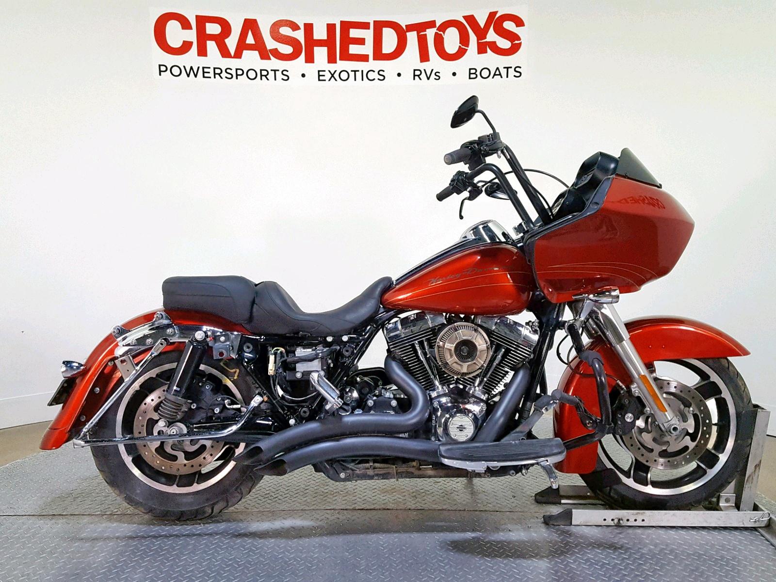 Salvage 2013 Harley-Davidson FLTRX ROAD for sale