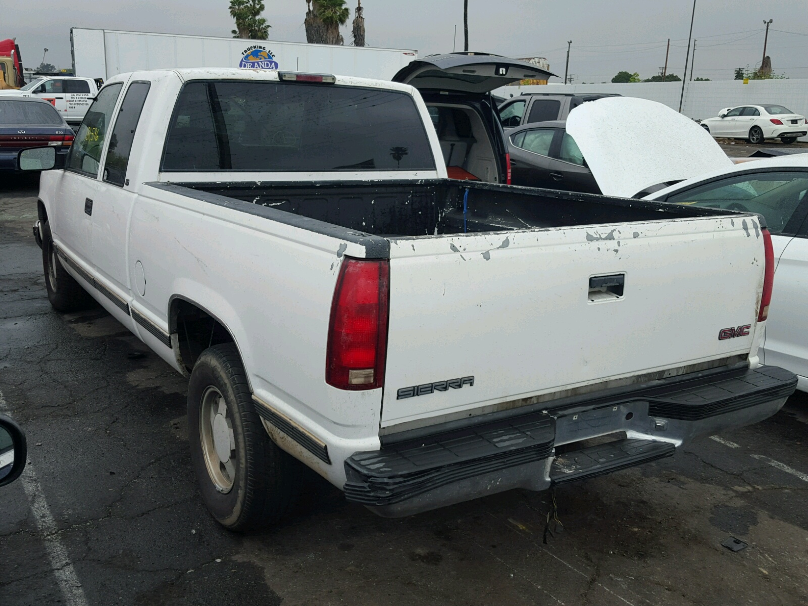 1998 GMC Sierra C15 for sale at Copart Van Nuys CA Lot