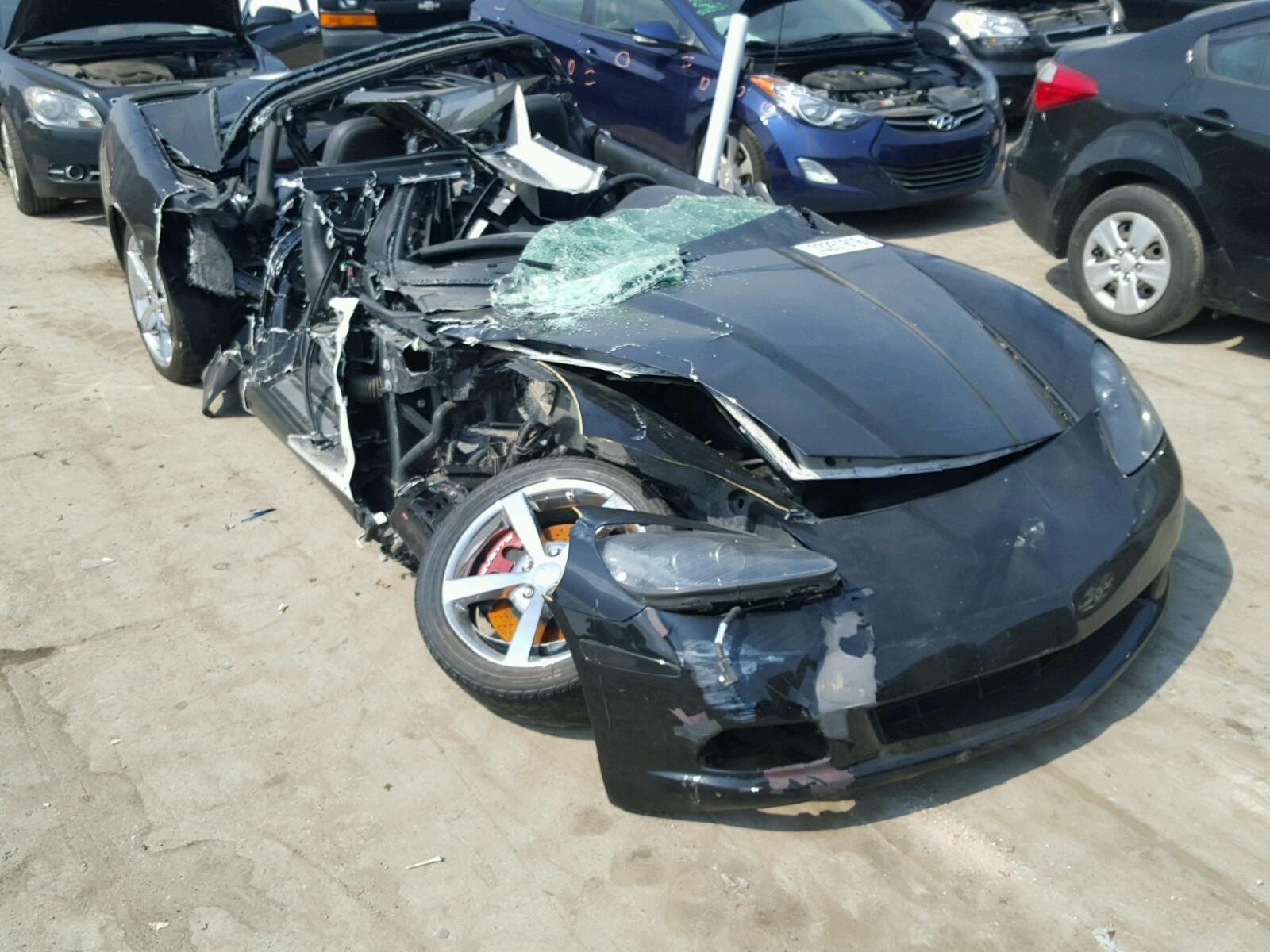 Salvage 2008 Chevrolet CORVETTE for sale