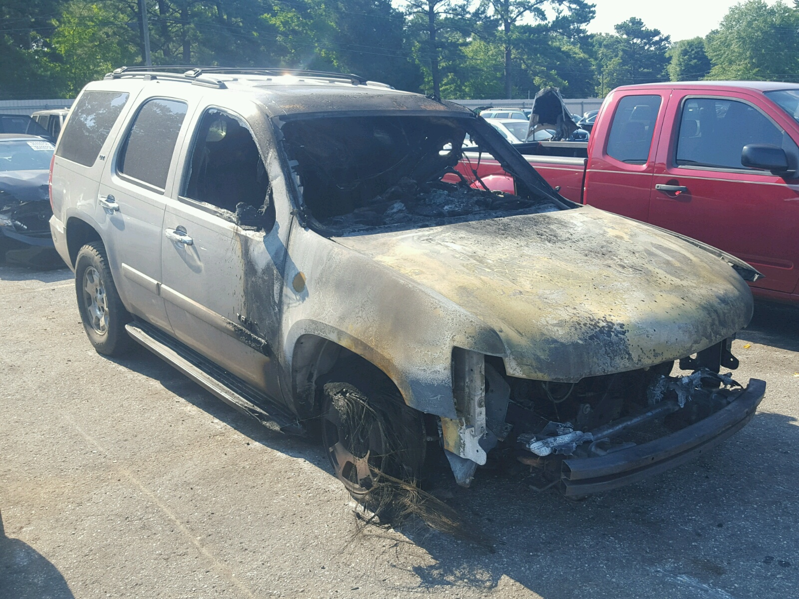Salvage 2008 Chevrolet TAHOE C150 for sale
