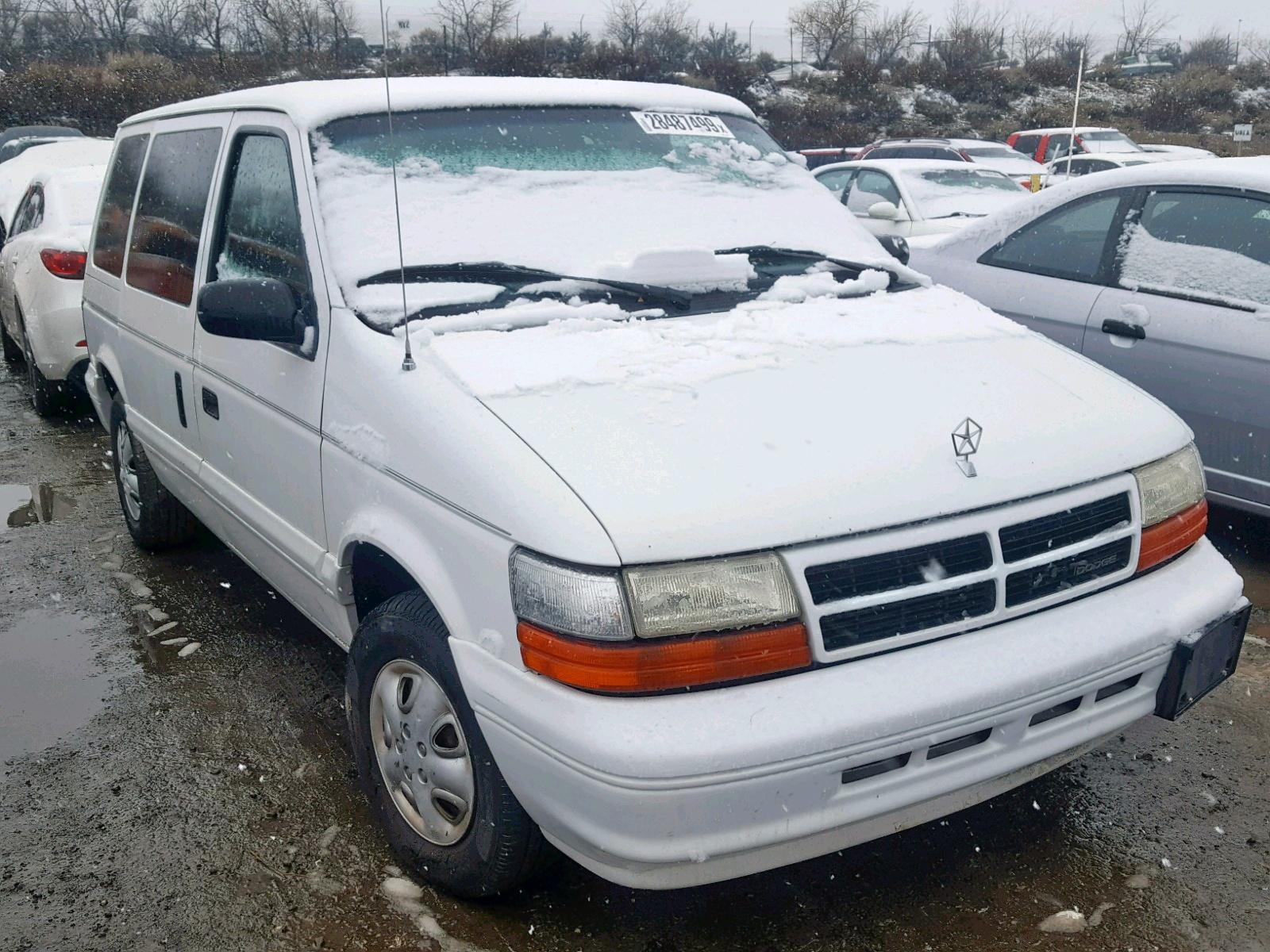 Salvage 1994 Dodge CARAVAN SE for sale