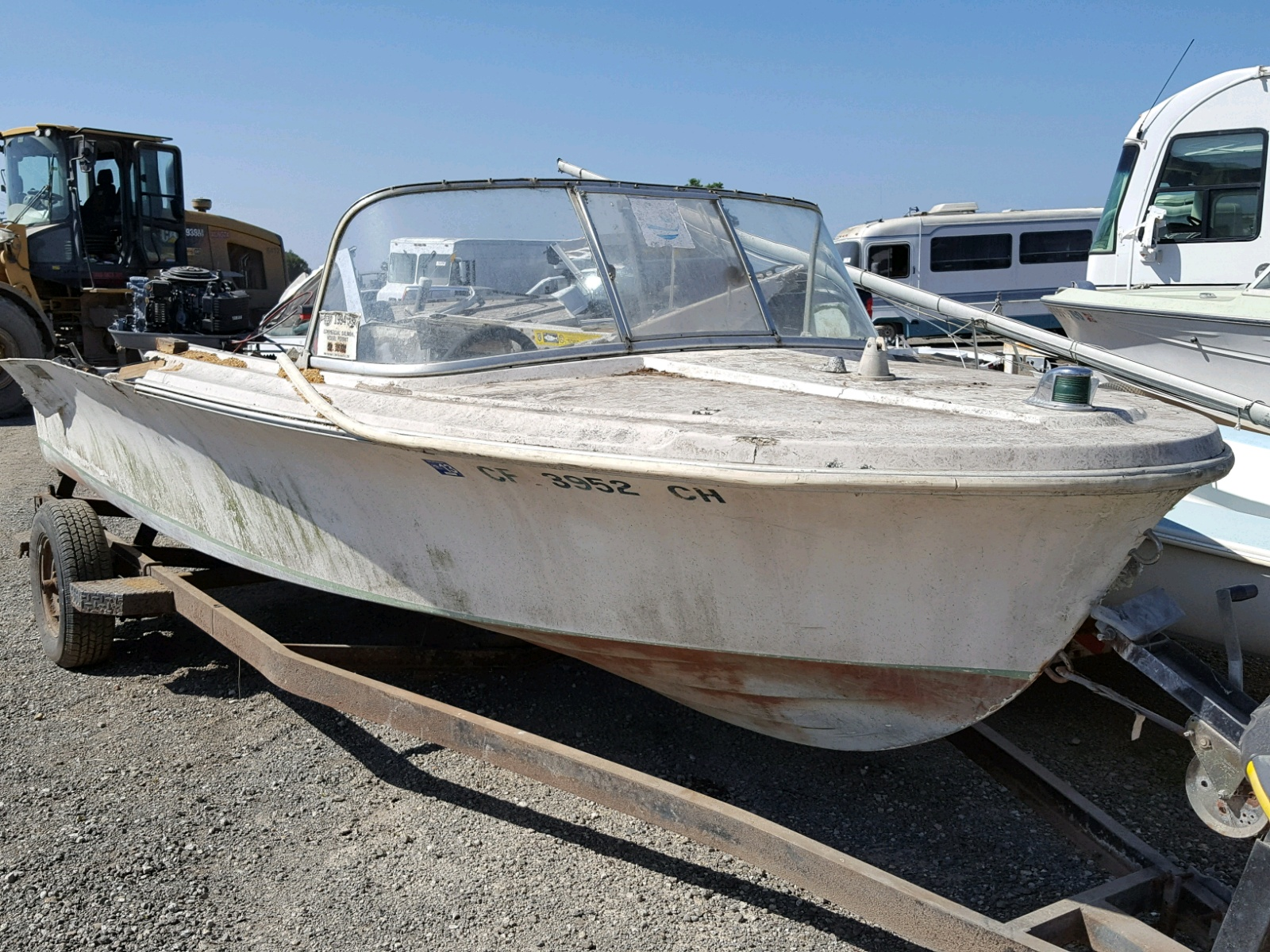 Salvage 1963 Larson MARINE LOT for sale