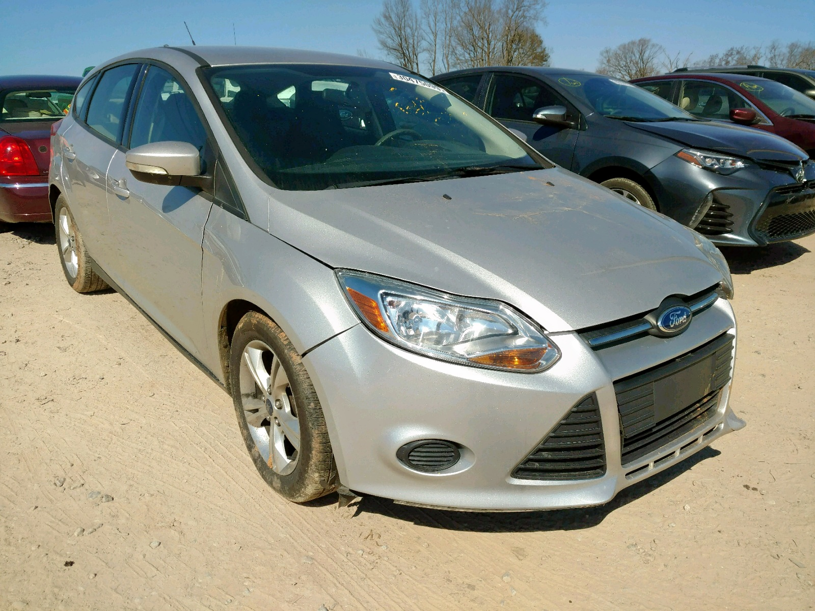 Salvage 2013 Ford FOCUS SE for sale