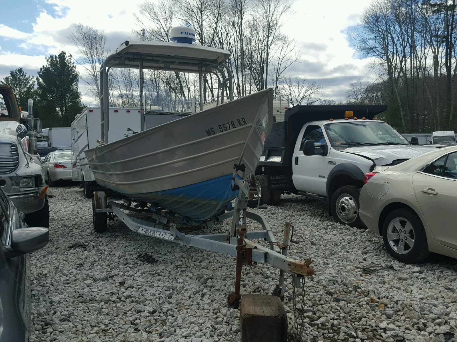 Salvage 1990 Baym BAY RUNNER for sale