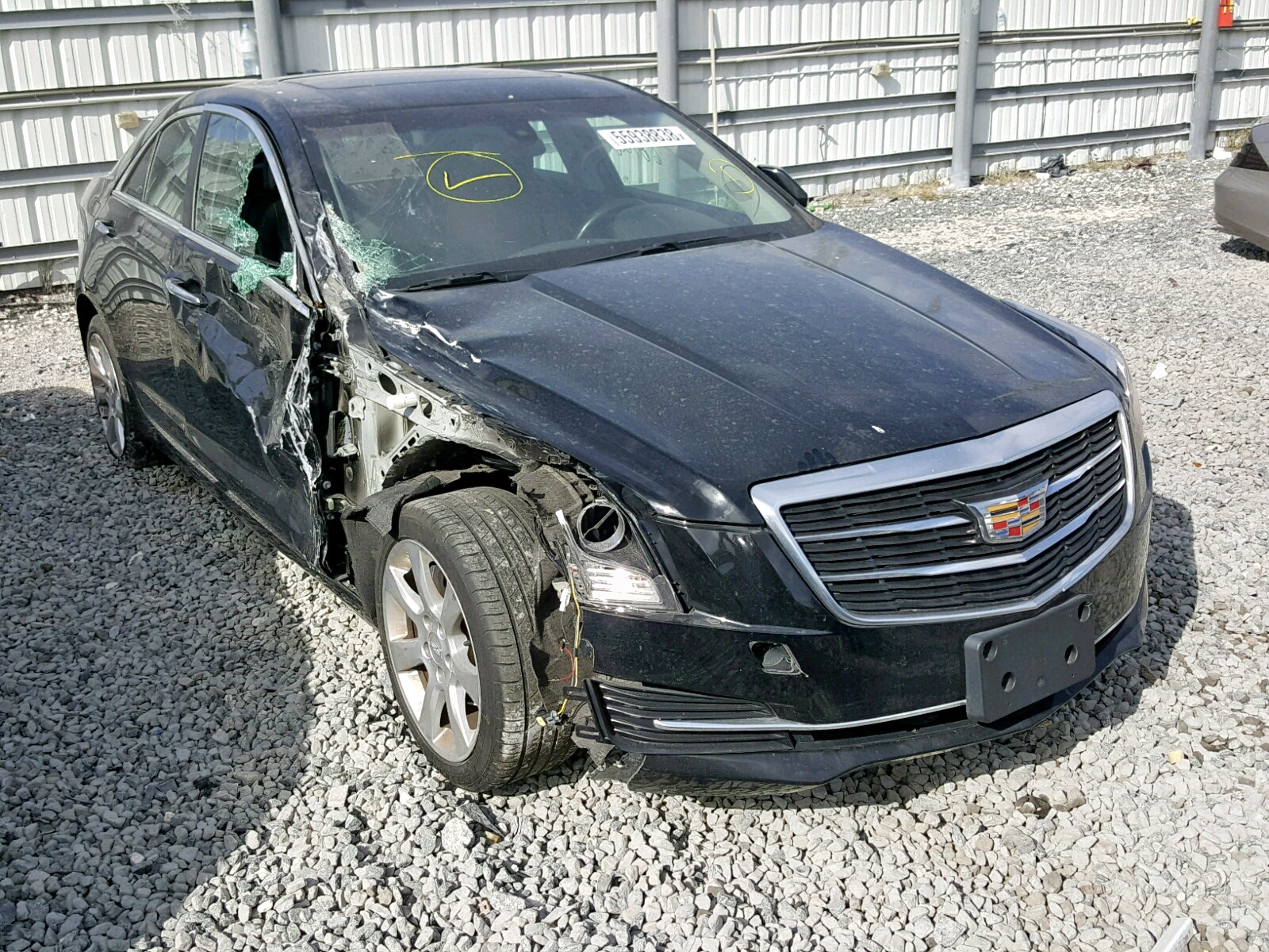 Salvage 2015 Cadillac ATS for sale