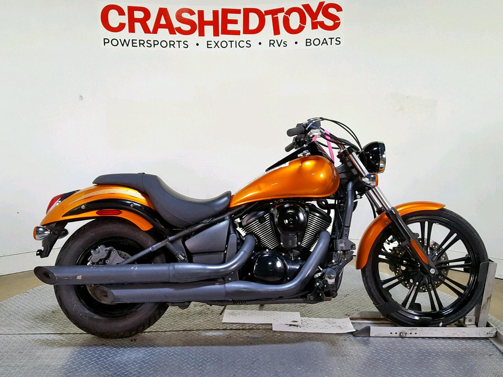 Salvage 2012 Kawasaki VN900 C for sale