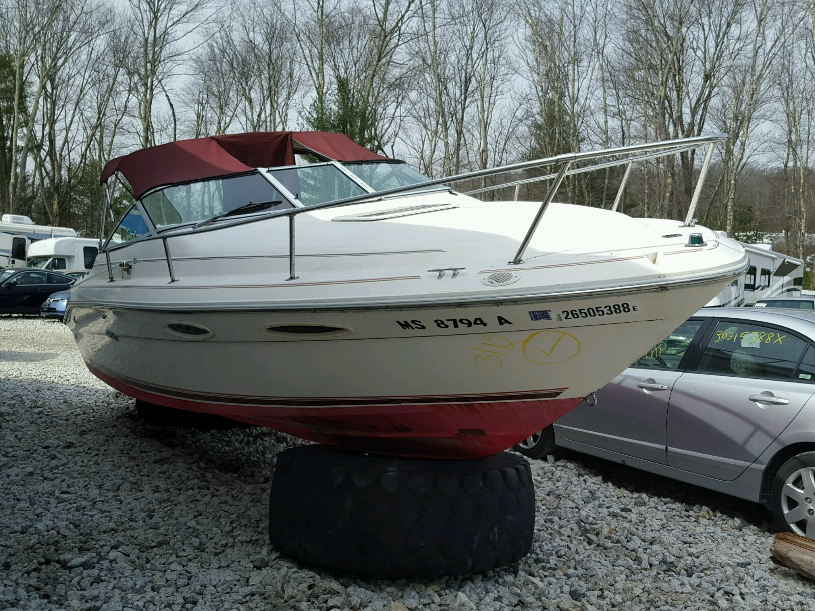 Salvage 1994 Sea Ray BOAT for sale