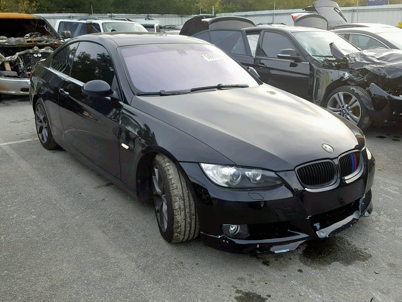 Salvage 2008 BMW 335 XI for sale