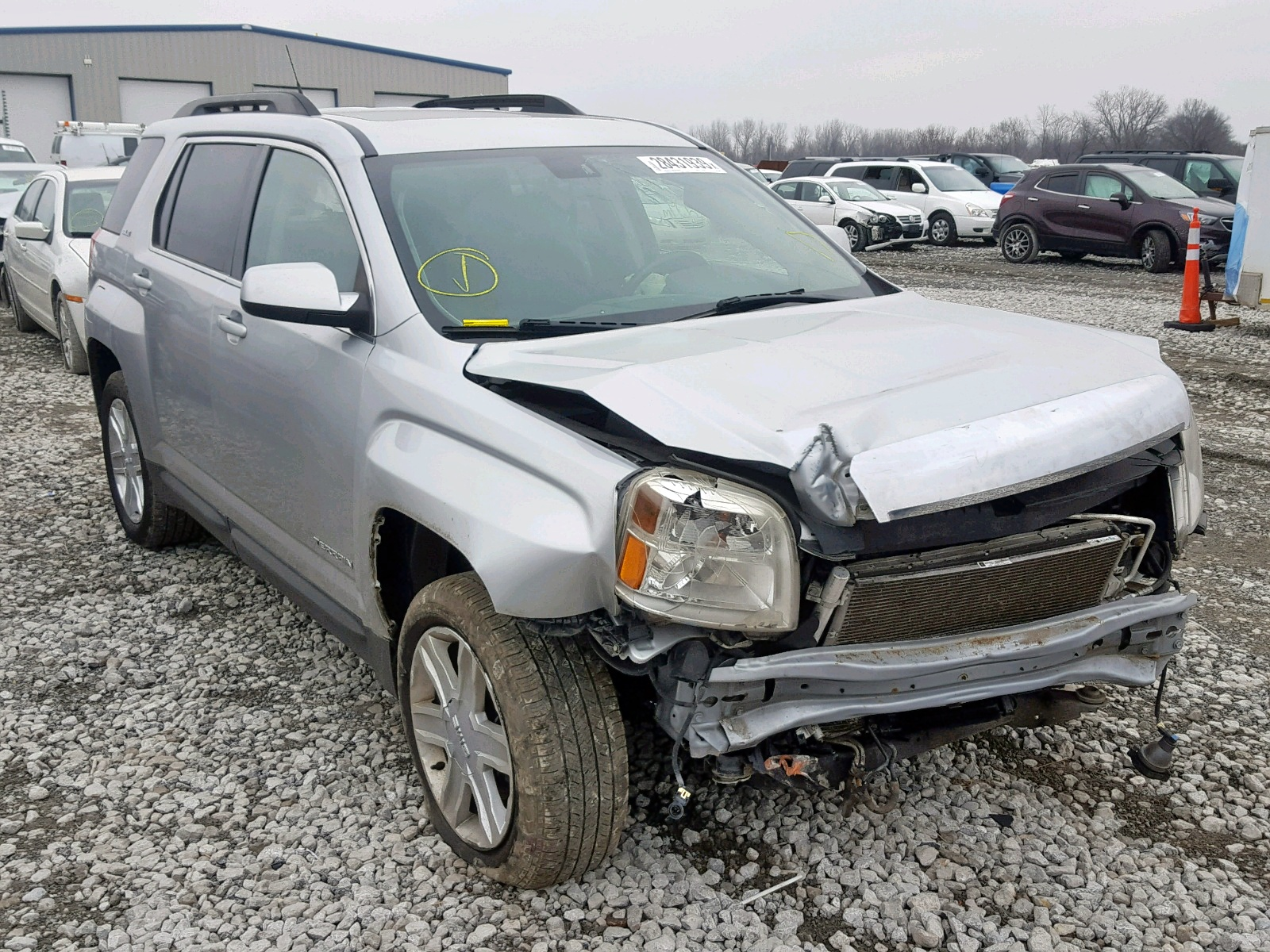 Salvage 2010 GMC TERRAIN SL for sale