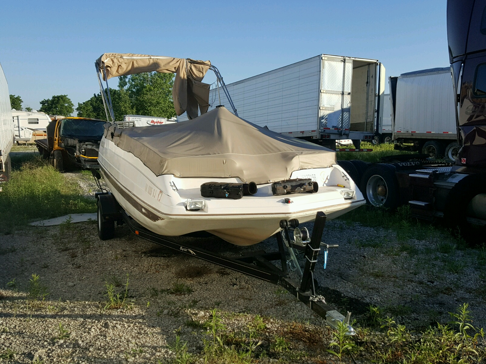 Salvage 1998 Sylvan 2030 SPACE for sale