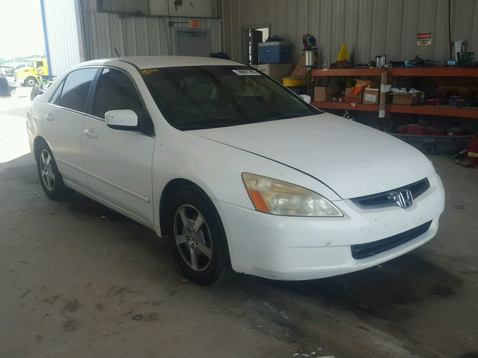 2005 Honda Accord Hybrid for sale at Copart New Orleans LA Lot