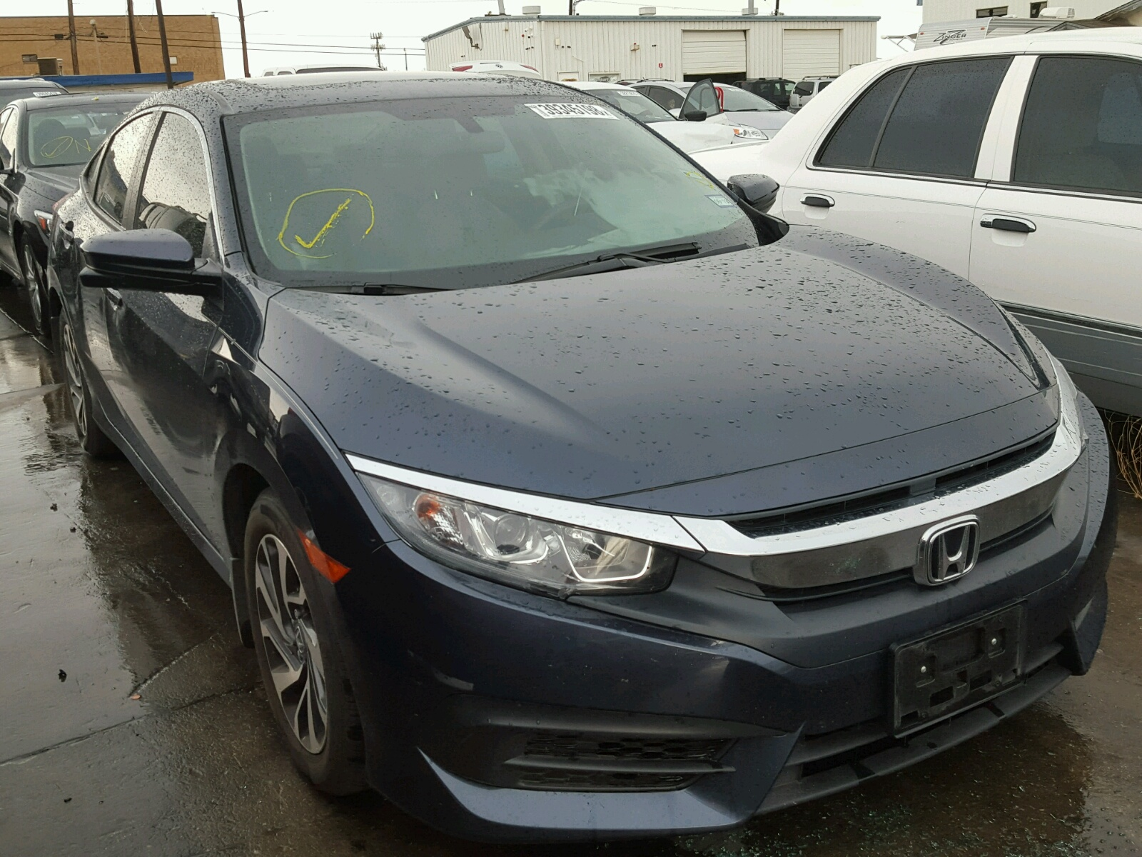 Salvage 2017 Honda CIVIC EX for sale