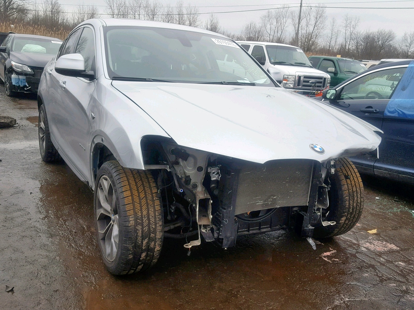 Salvage 2015 BMW X4 XDRIVE2 for sale