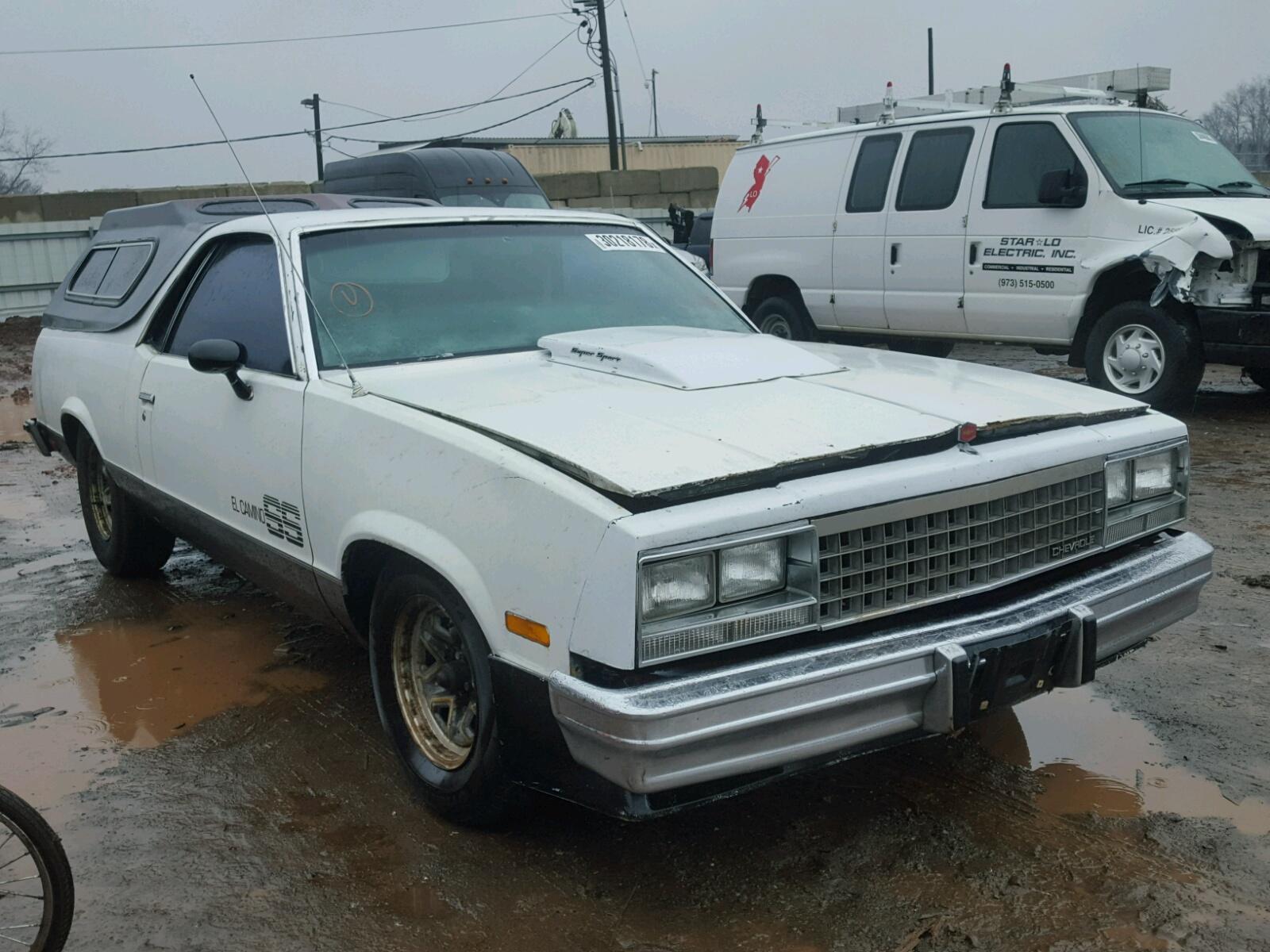 1982 CHEVROLET EL CAMINO 5.0L