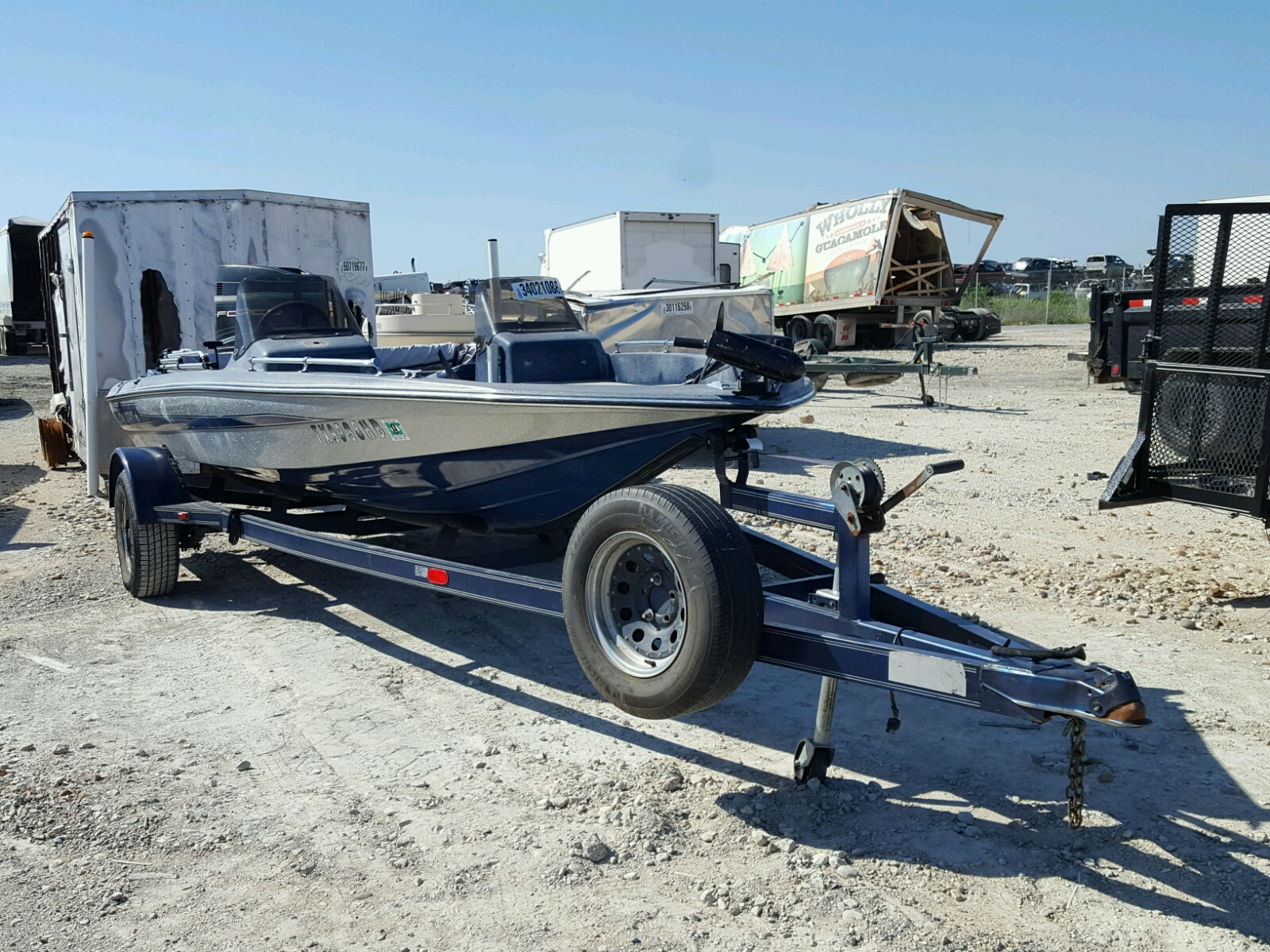 Salvage 1992 Forc BOAT for sale