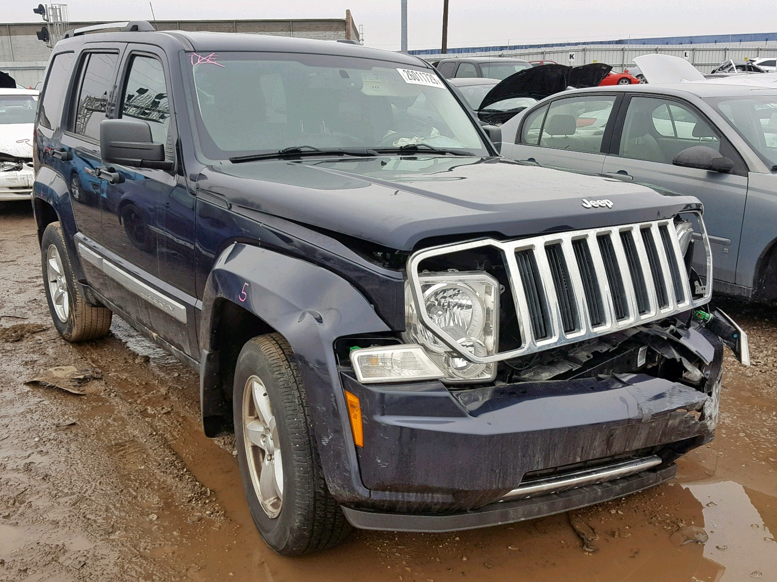 Salvage 2011 Jeep LIBERTY LI for sale