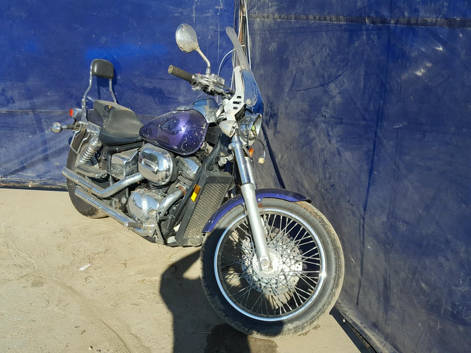 Salvage 2003 Honda VT750 DCB for sale