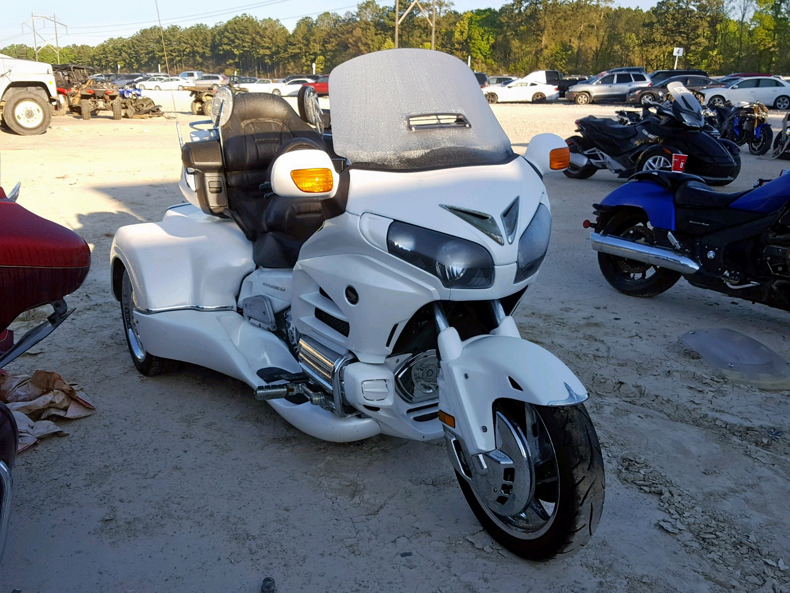 Salvage 2013 Honda GL1800 G for sale
