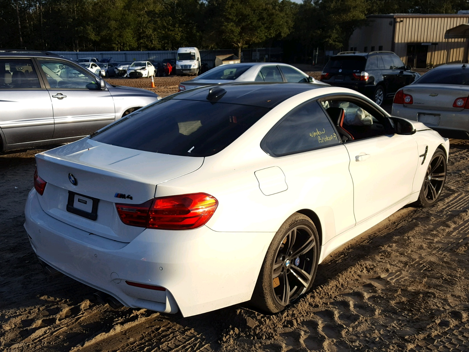 Auto Auction Ended On VIN WBS3R9C56FK331606 2015 Bmw M4 In FL
